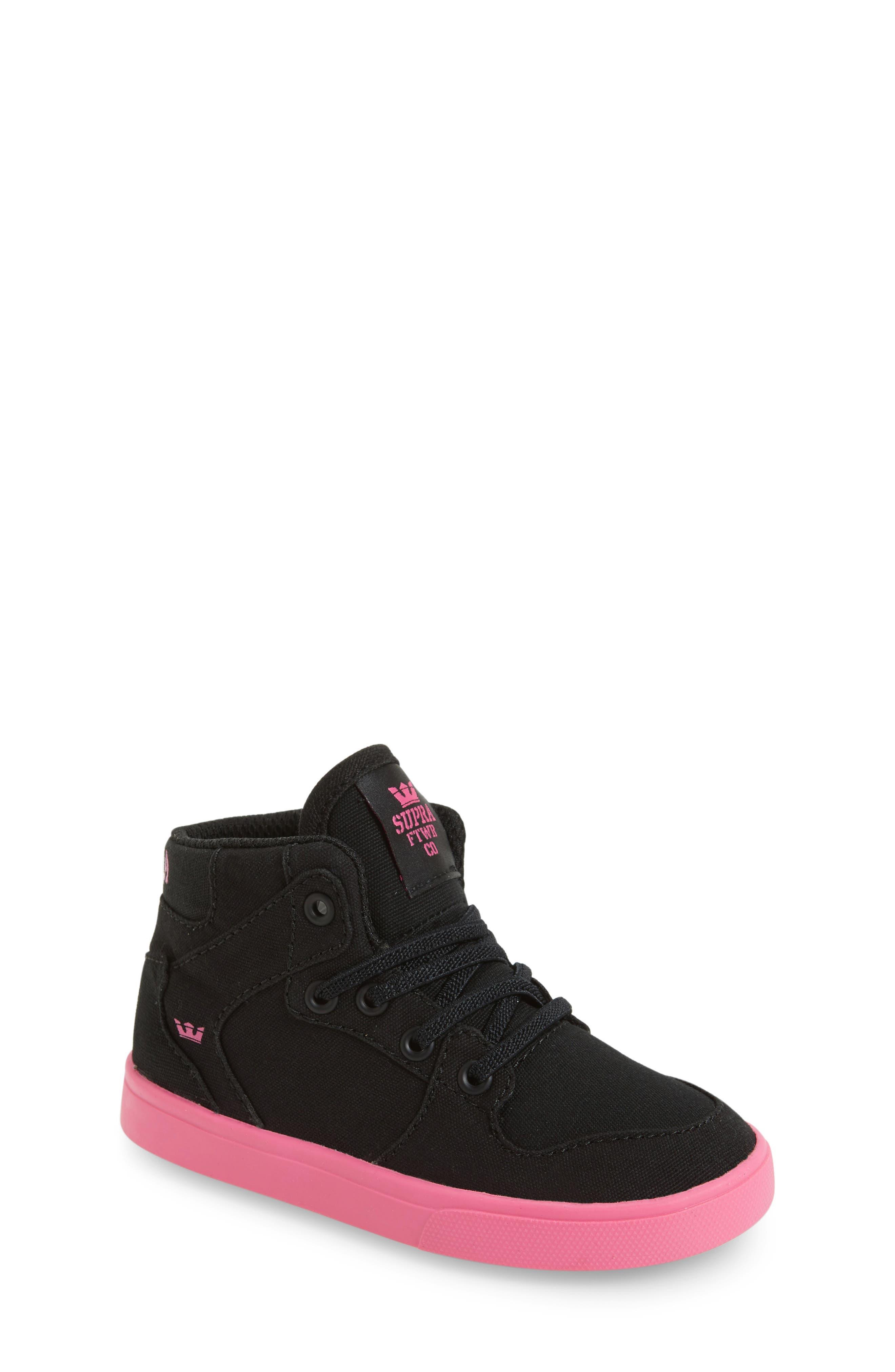 Supra 'Vaider' High Top Sneaker (Walker & Toddler)