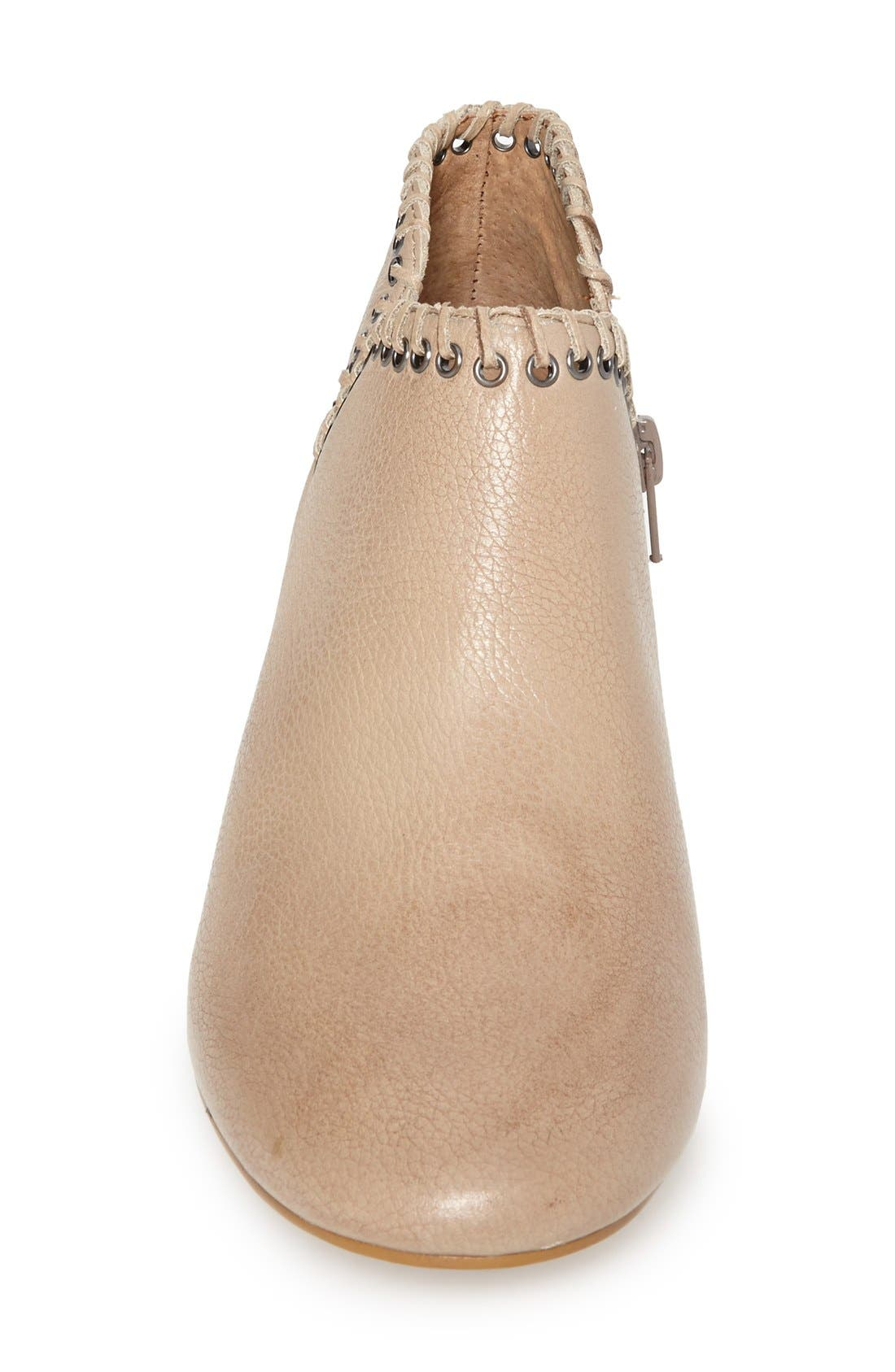 Alternate Image 3  - SIXTYSEVEN 'Sasha' Whipstitch Trim Leather Bootie (Women)