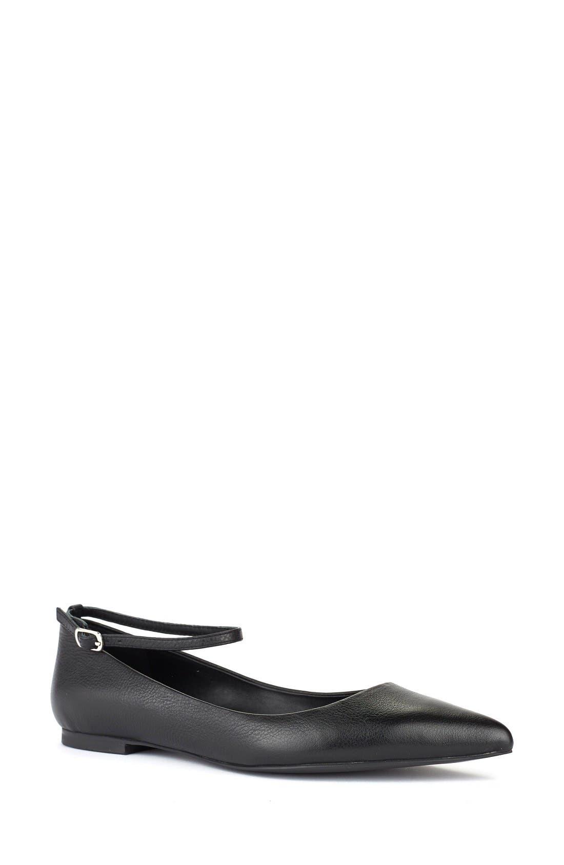 Shoes of Prey Ankle Strap Flat (Women)