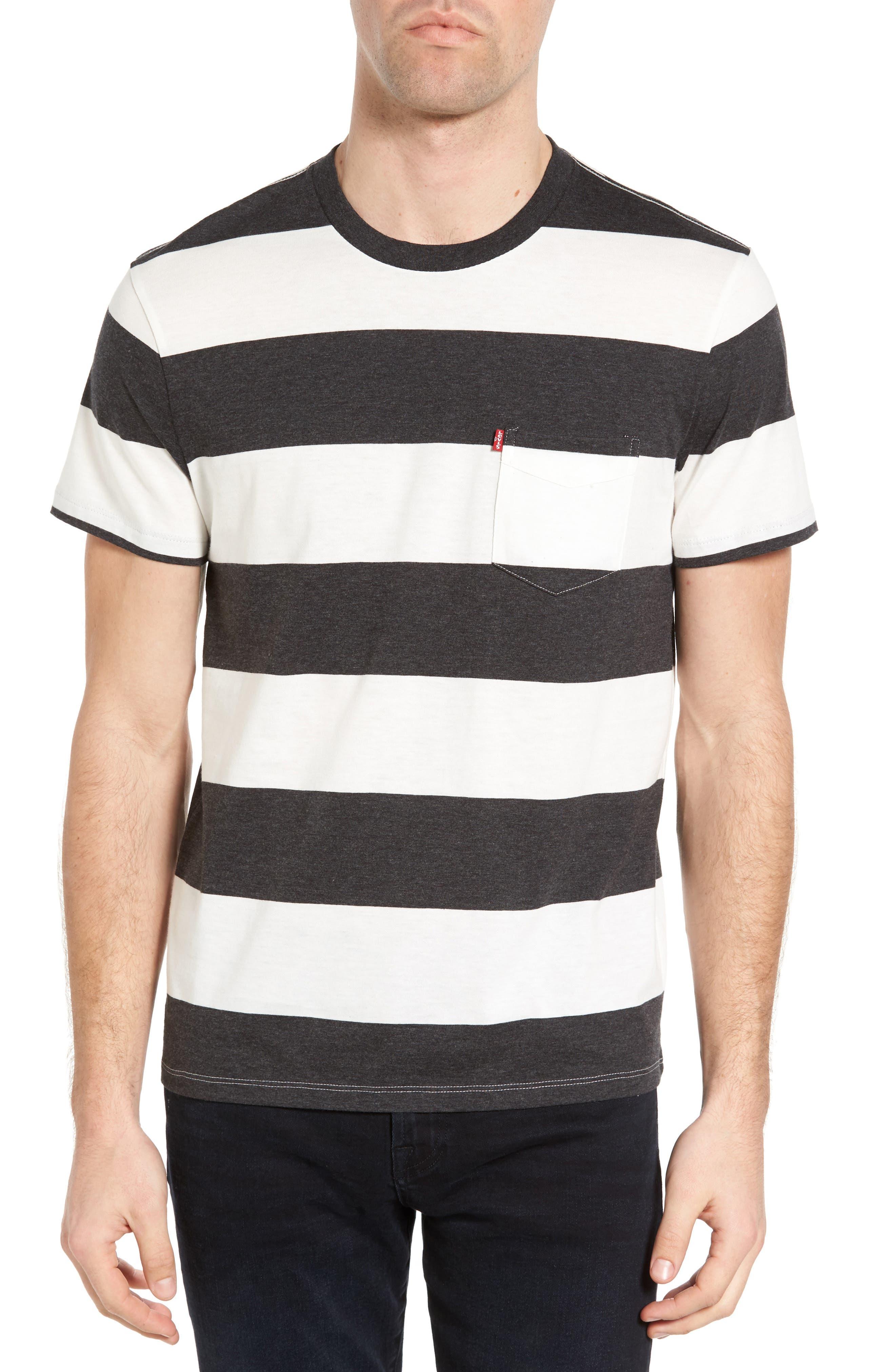 LEVI'S® Sunset Stripe Pocket T-Shirt