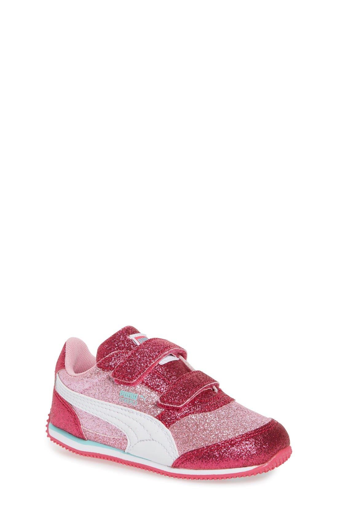 PUMA Steeple Glitz Glam Sneaker (Baby, Walker, Toddler, Little Kid & Big Kid)