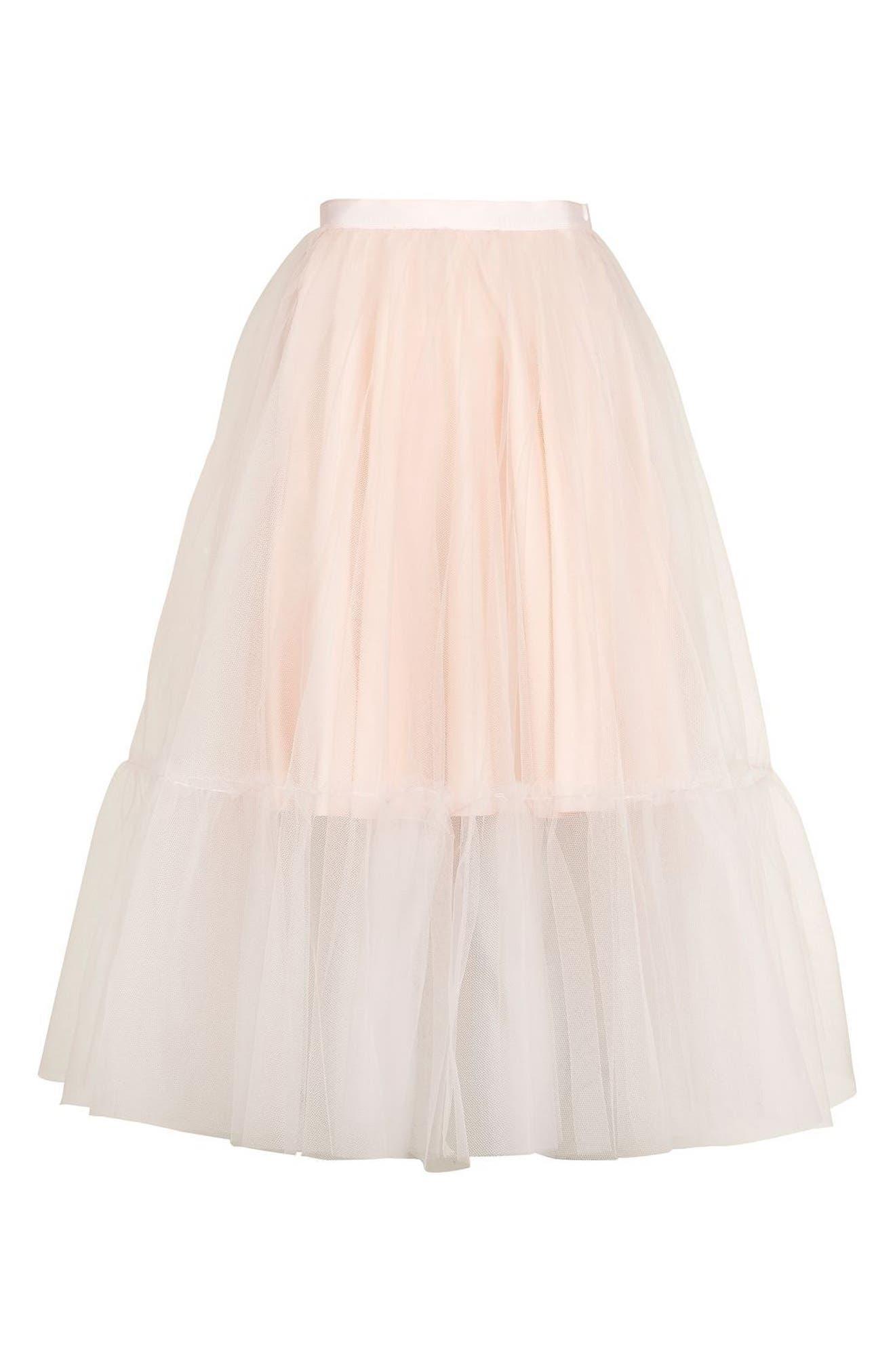 Alternate Image 5  - Topshop Tutu Tulle Skirt