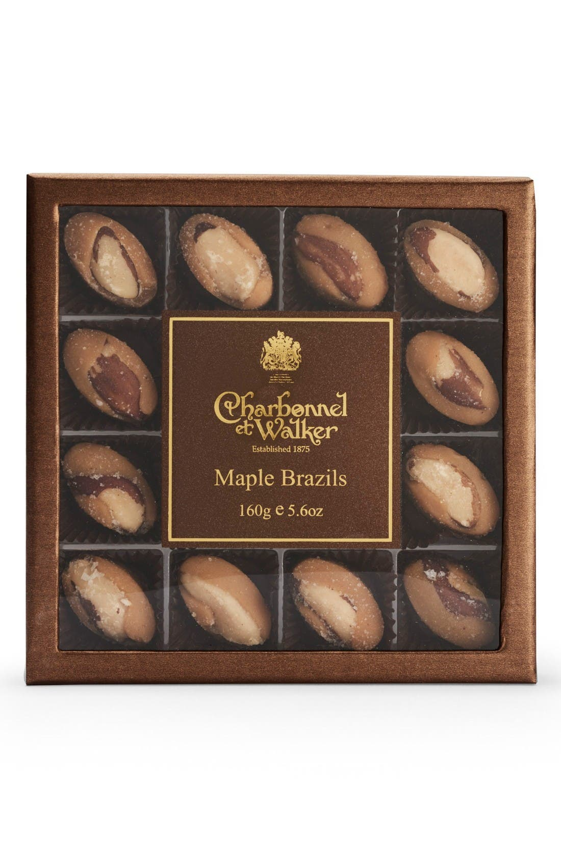 CHARBONNEL ET WALKER Maple Brazil Nuts in Gift