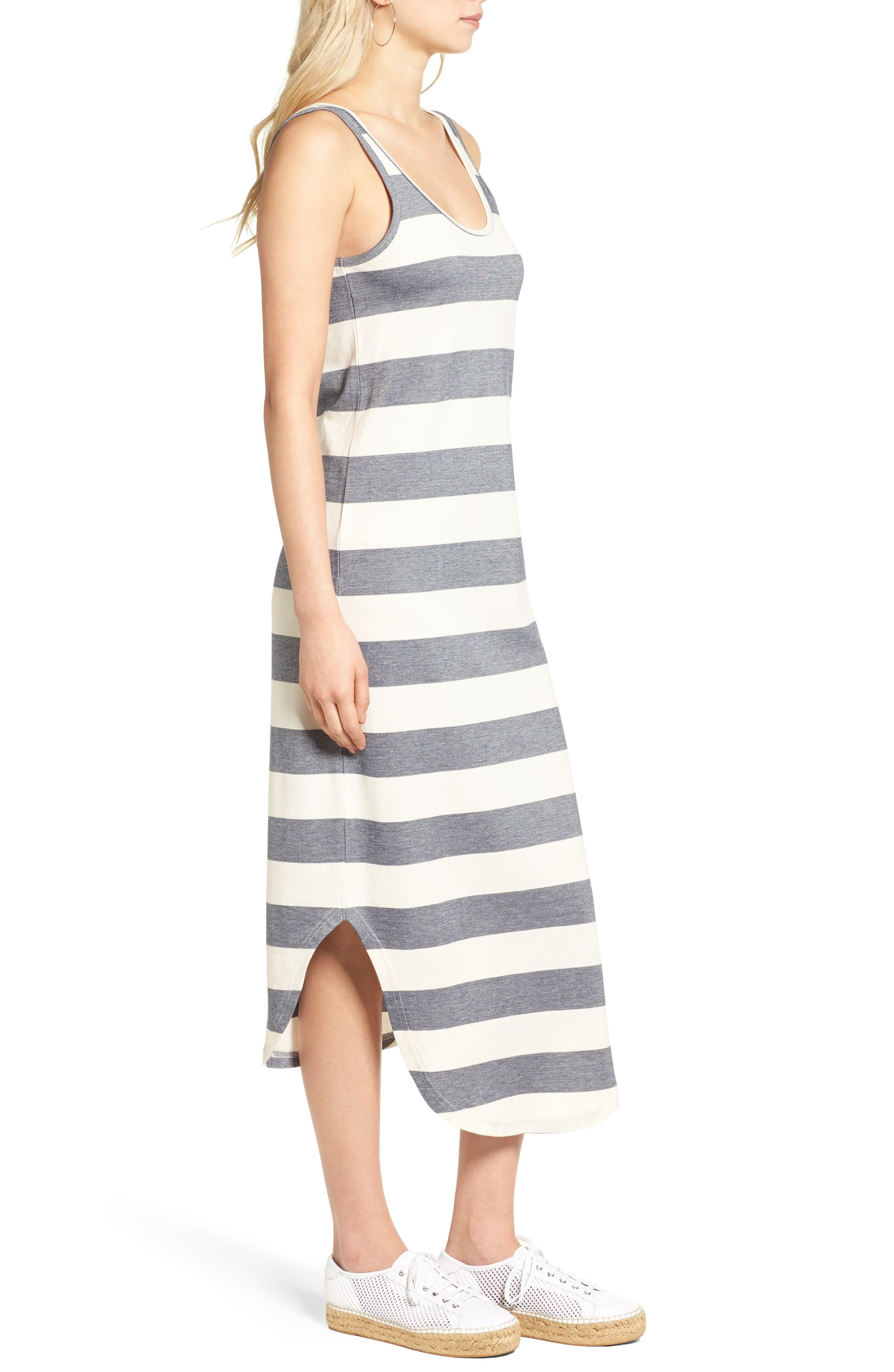 Alternate Image 4  - The Fifth Label Chelsea Stripe Midi Dress