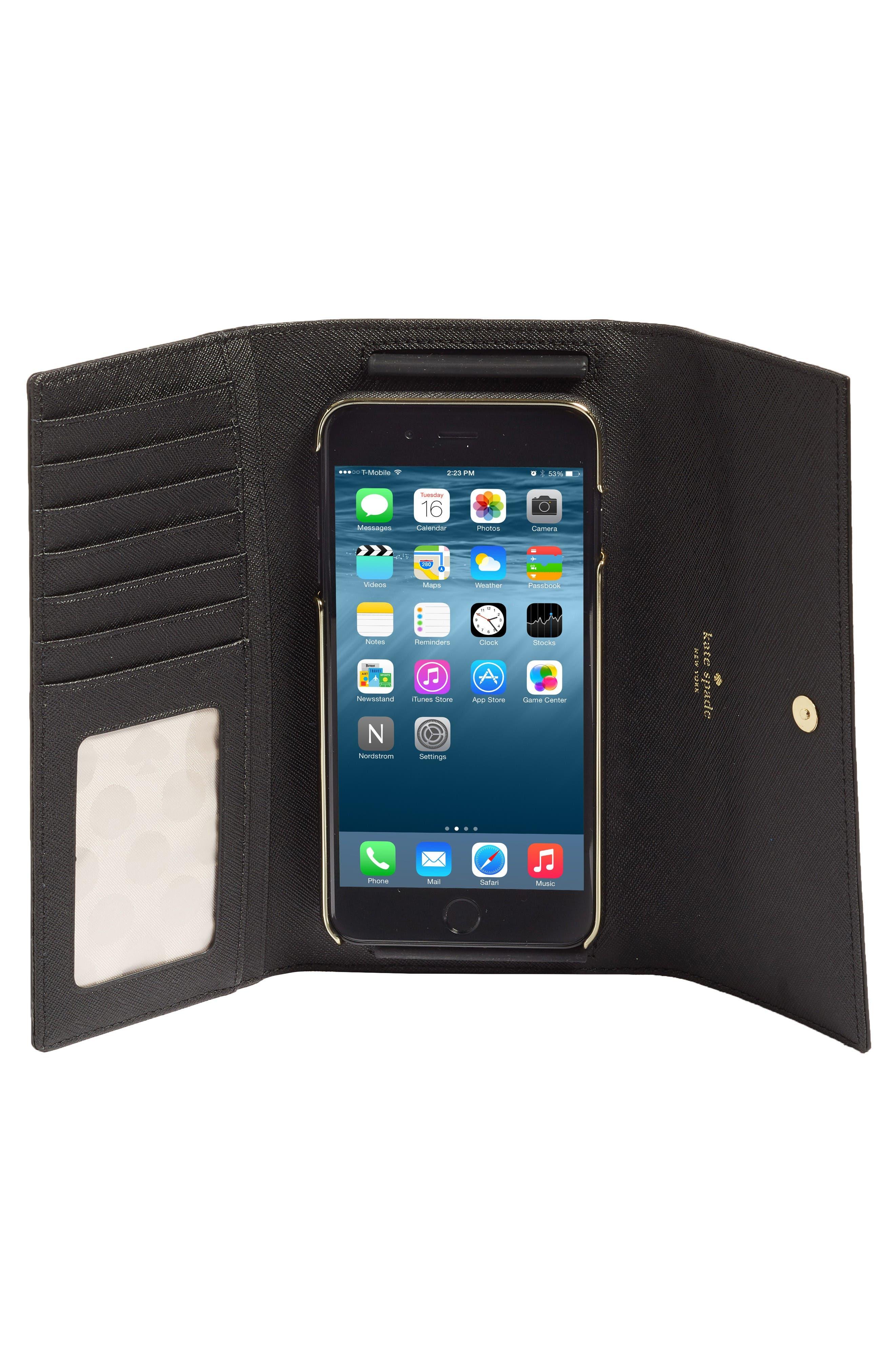 Alternate Image 2  - kate spade new york leather iPhone 7 & 7 Plus wallet