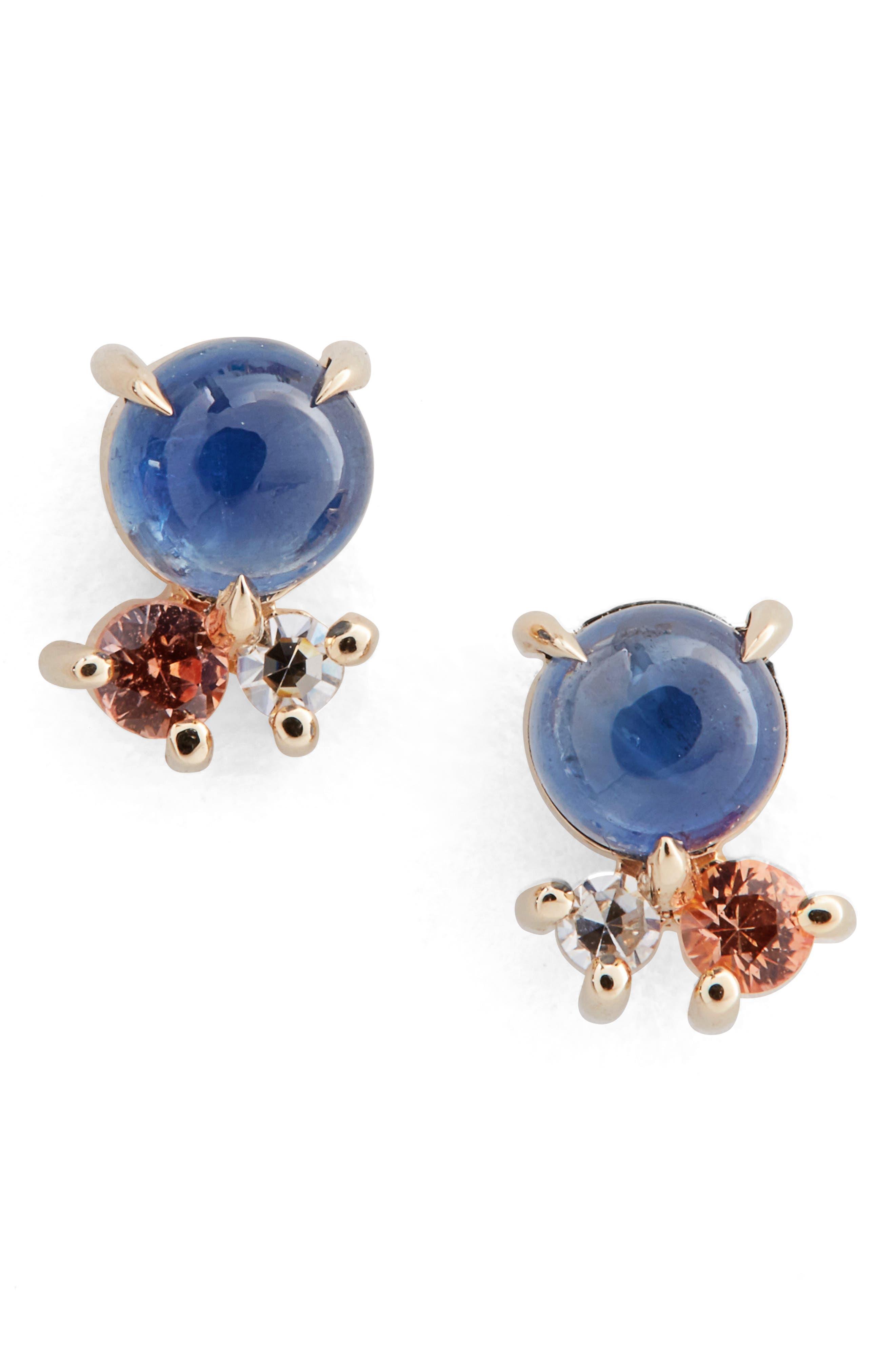 MOCIUN Sapphire & Diamond Earrings (Nordstrom Exclusive)
