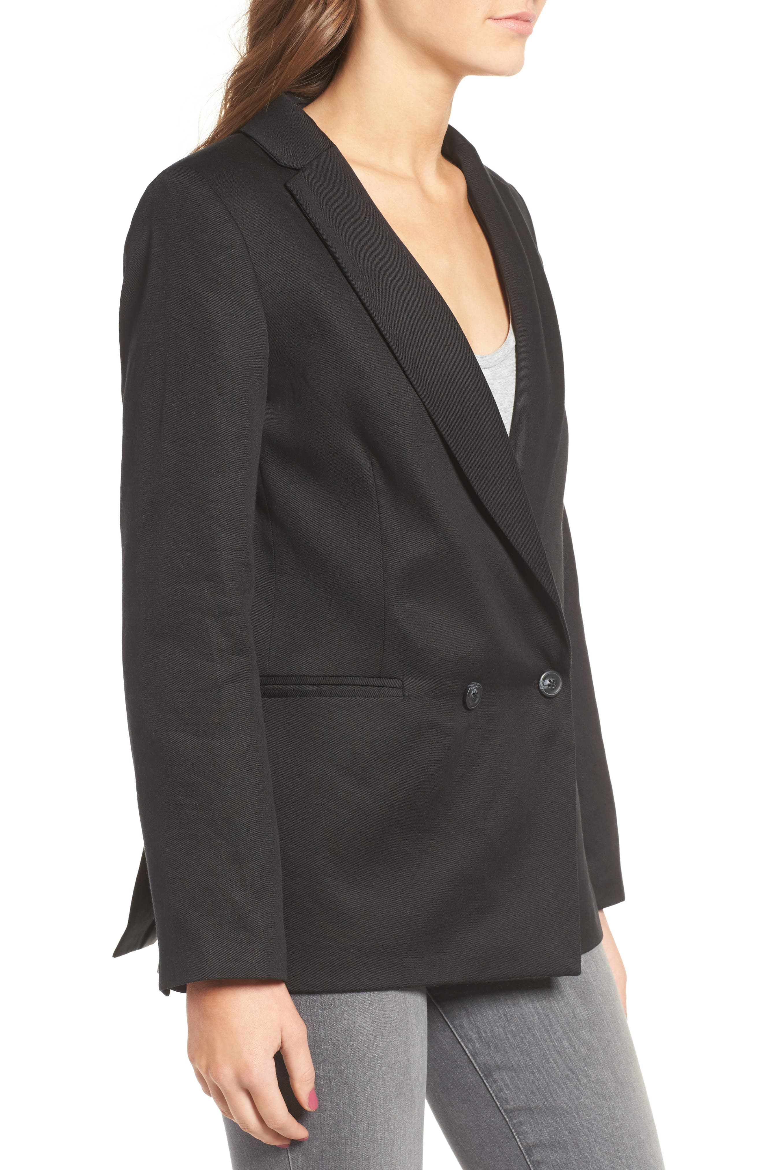 Alternate Image 3  - Sincerely Jules 'Riley' Notch Collar Blazer