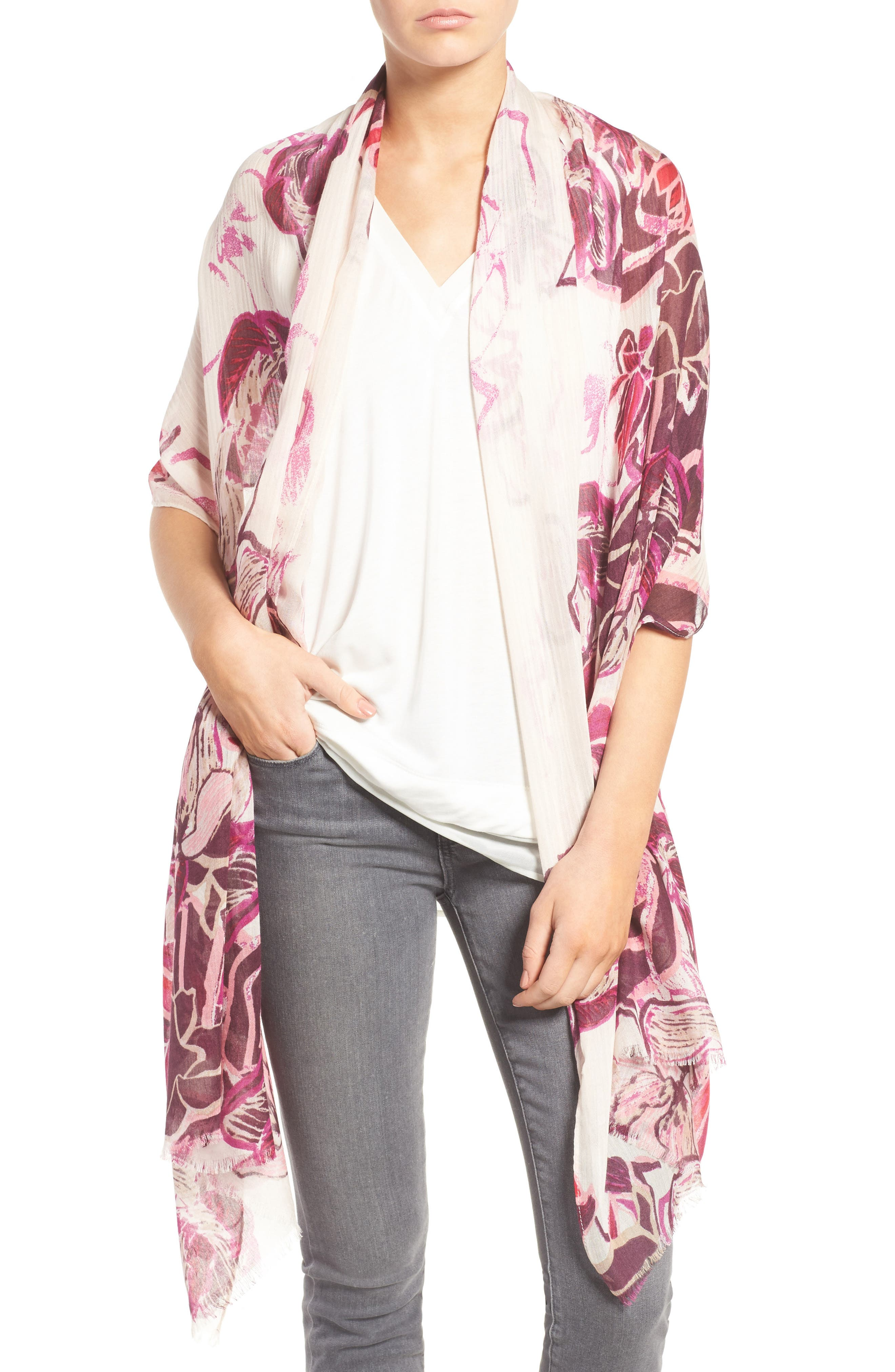 HALOGEN® Urban Blooms Scarf