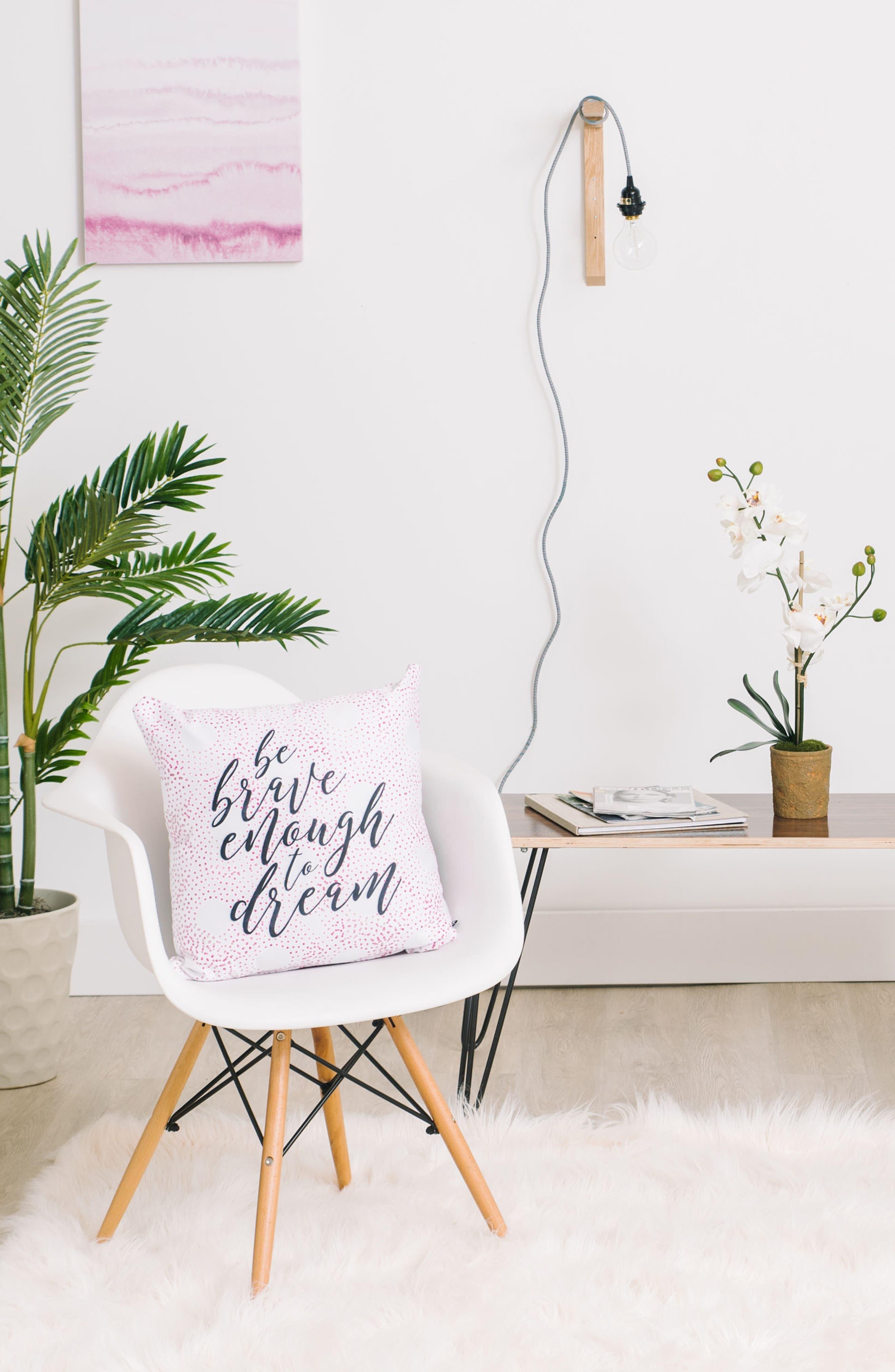 Alternate Image 2  - DENY Designs Be Brave Pillow