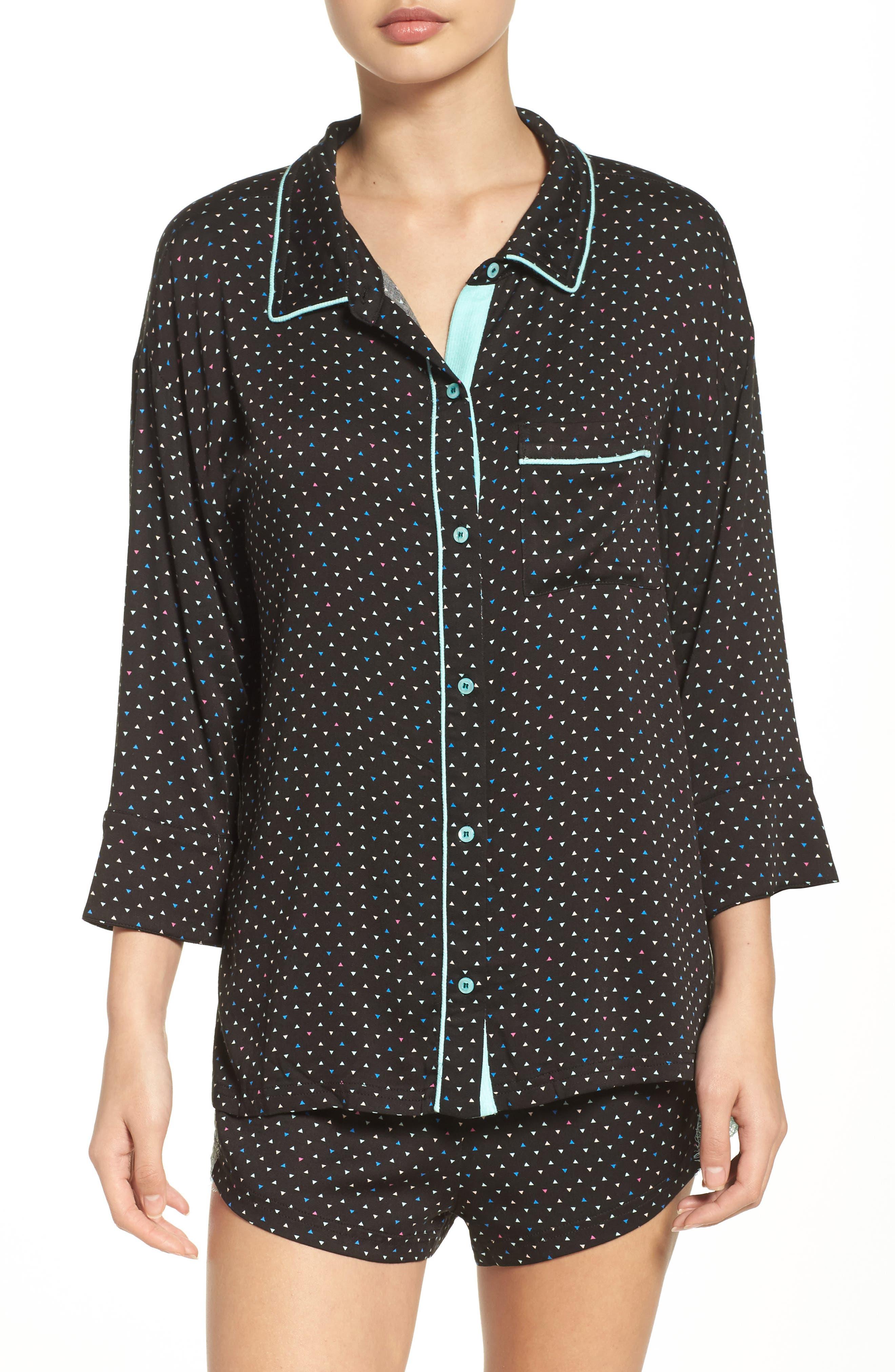Alternate Image 1 Selected - Honeydew Intimates Breakaway Pajamas