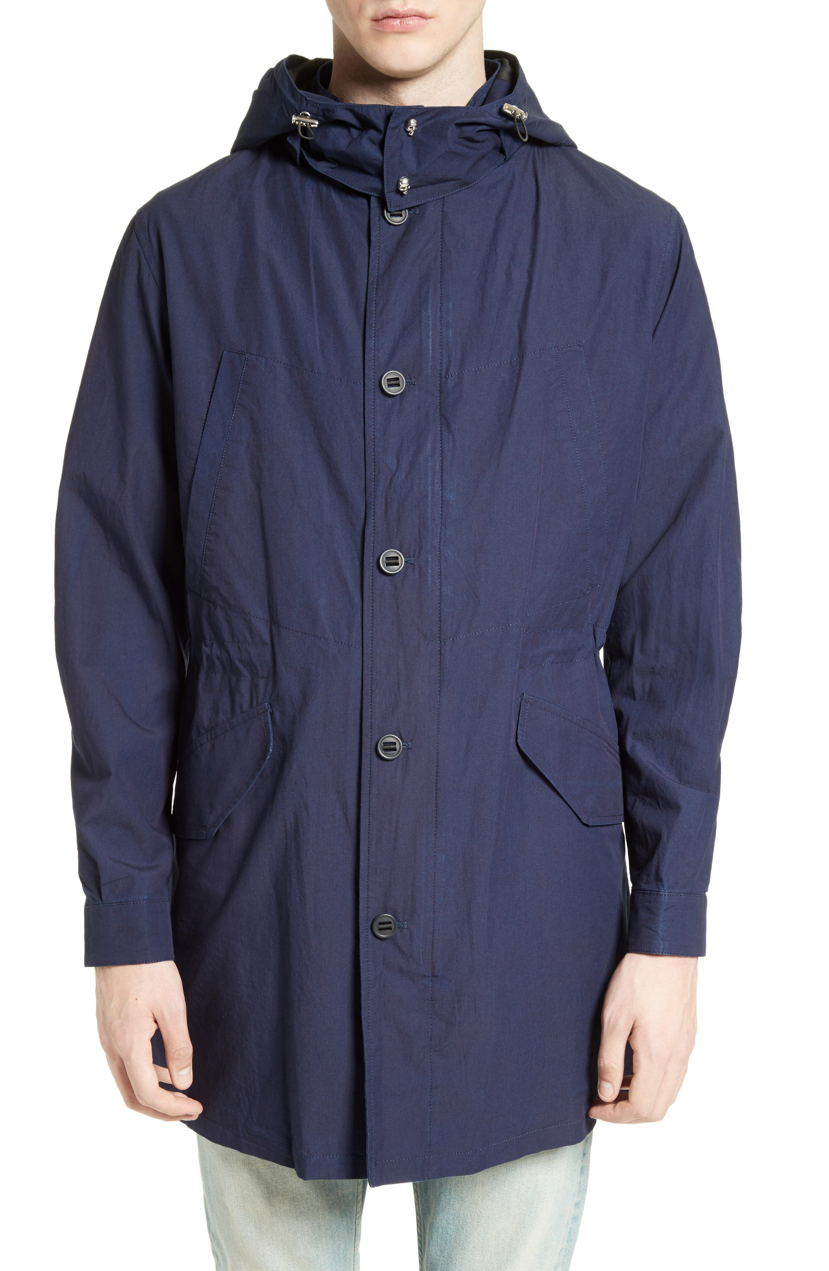 THE KOOPLES Hooded Cotton Parka