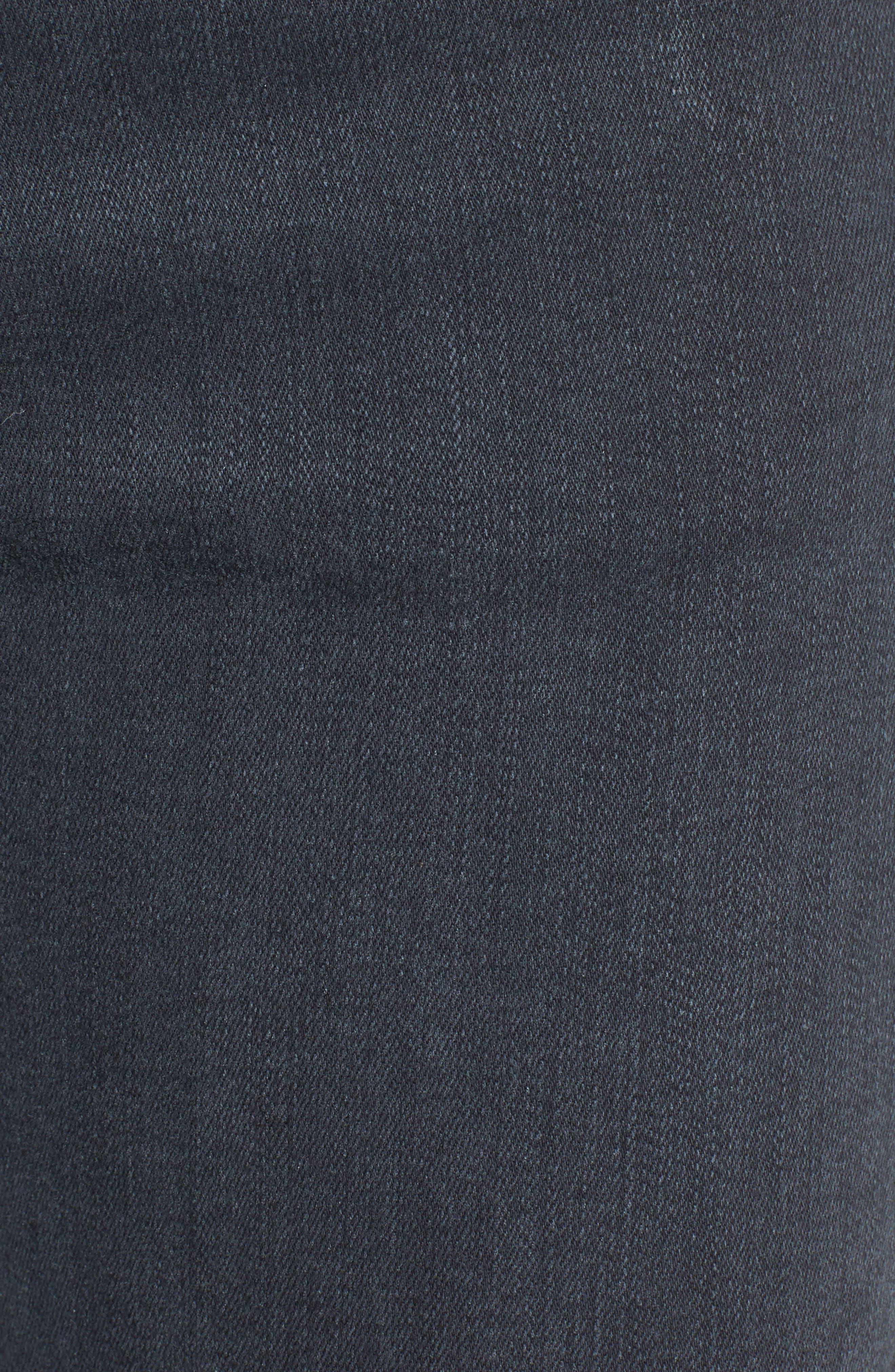 Alternate Image 5  - Hudson Jeans Collette Ankle Skinny Jeans (Penumbra)