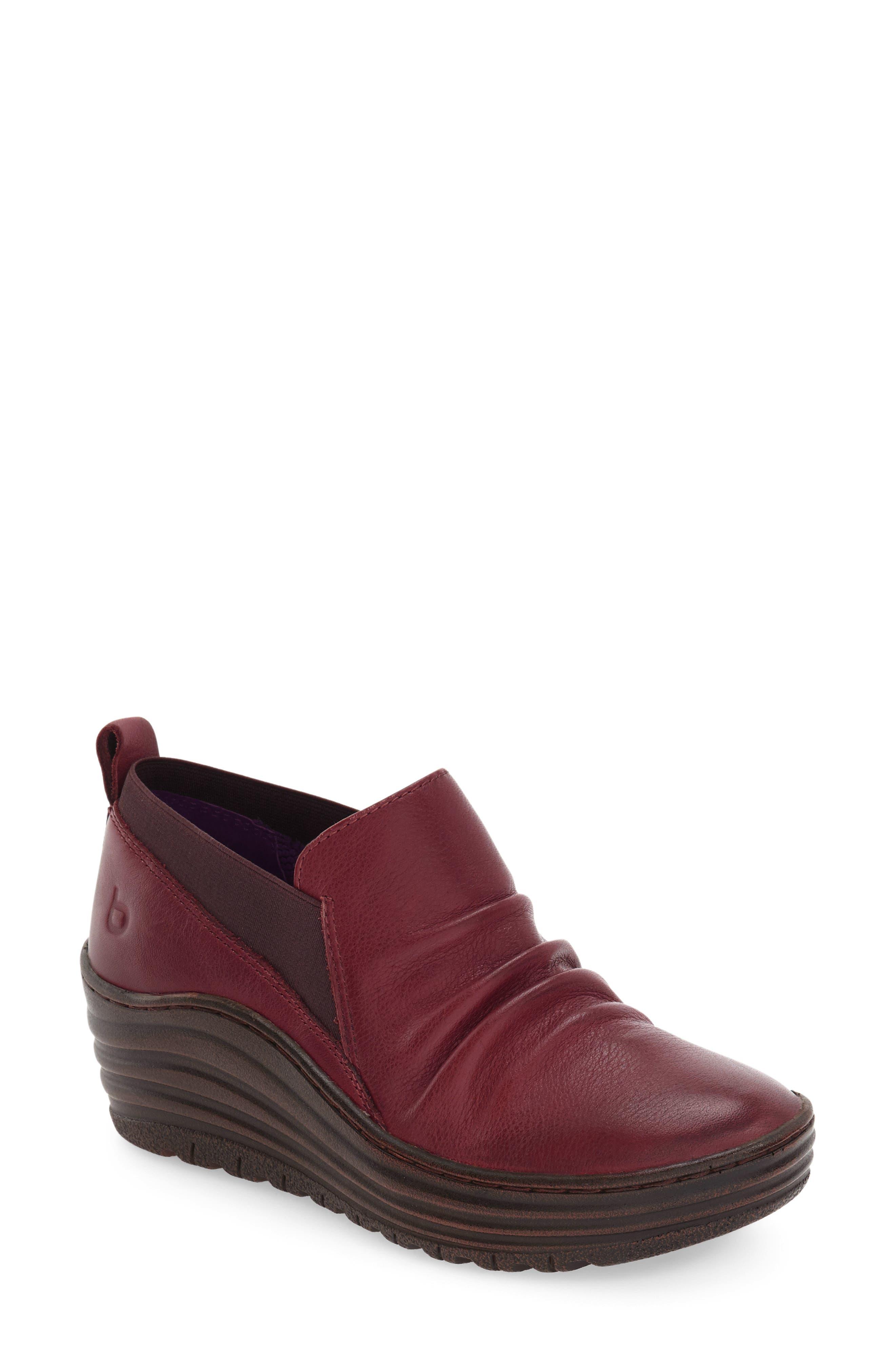 bionica 'Gallant' Leather Bootie (Women)