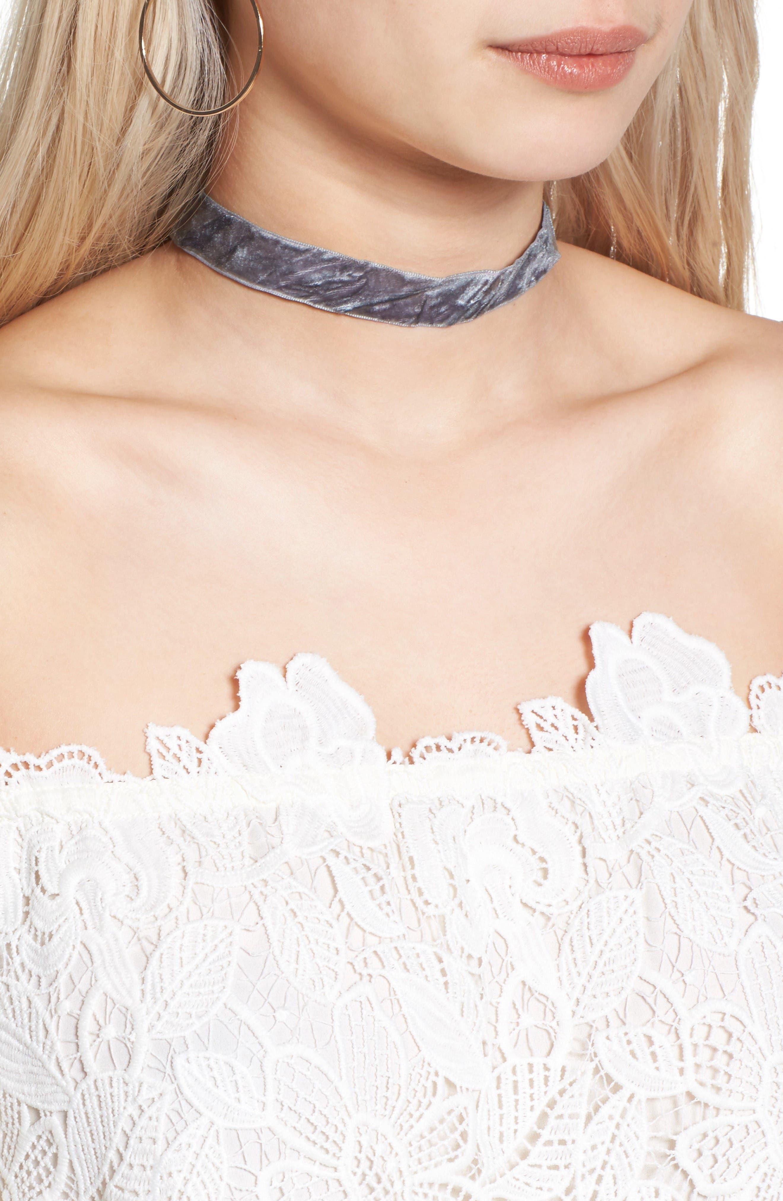 Alternate Image 4  - Astr Amalie Lace Top