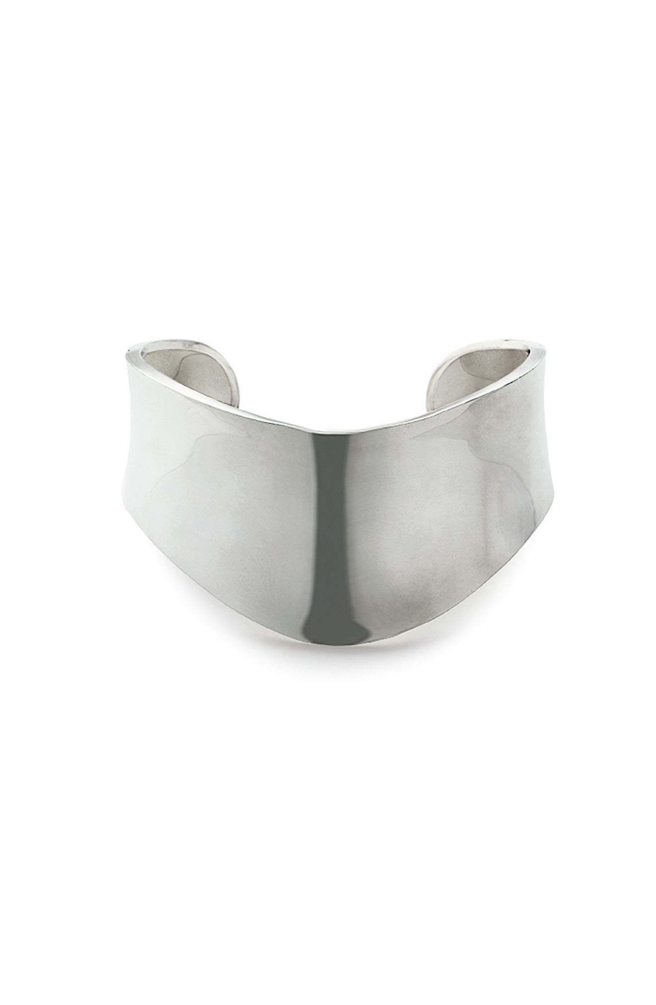 Alternate Image 2  - Argento Vivo Shield Cuff
