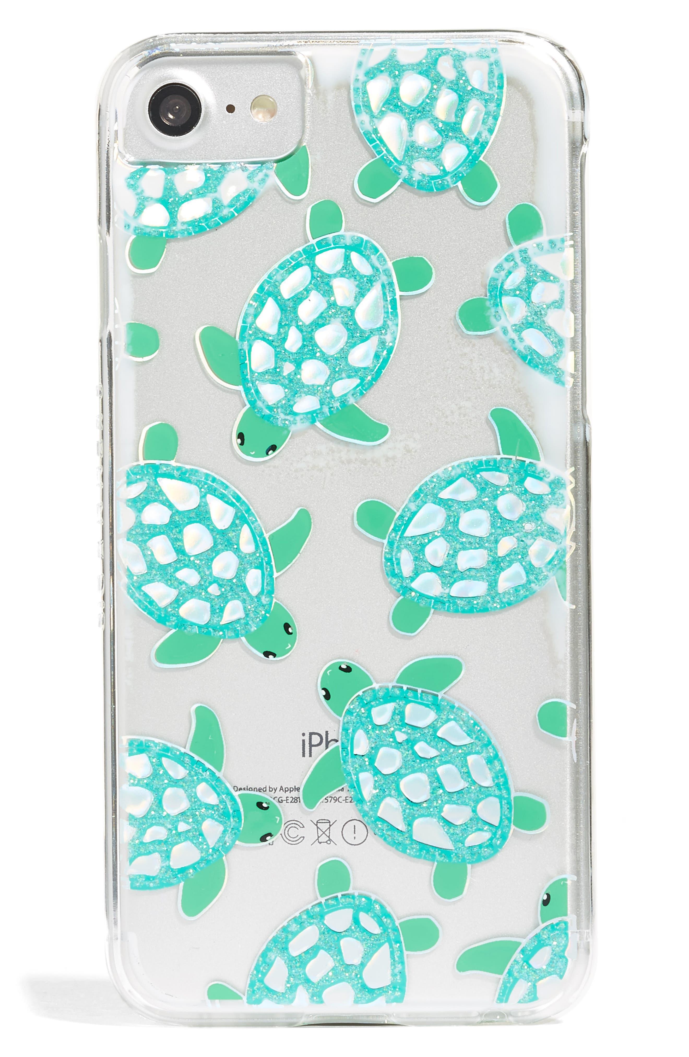 Alternate Image 1 Selected - Skinnydip Turtle iPhone Case (6/7 & 6/7 Plus)
