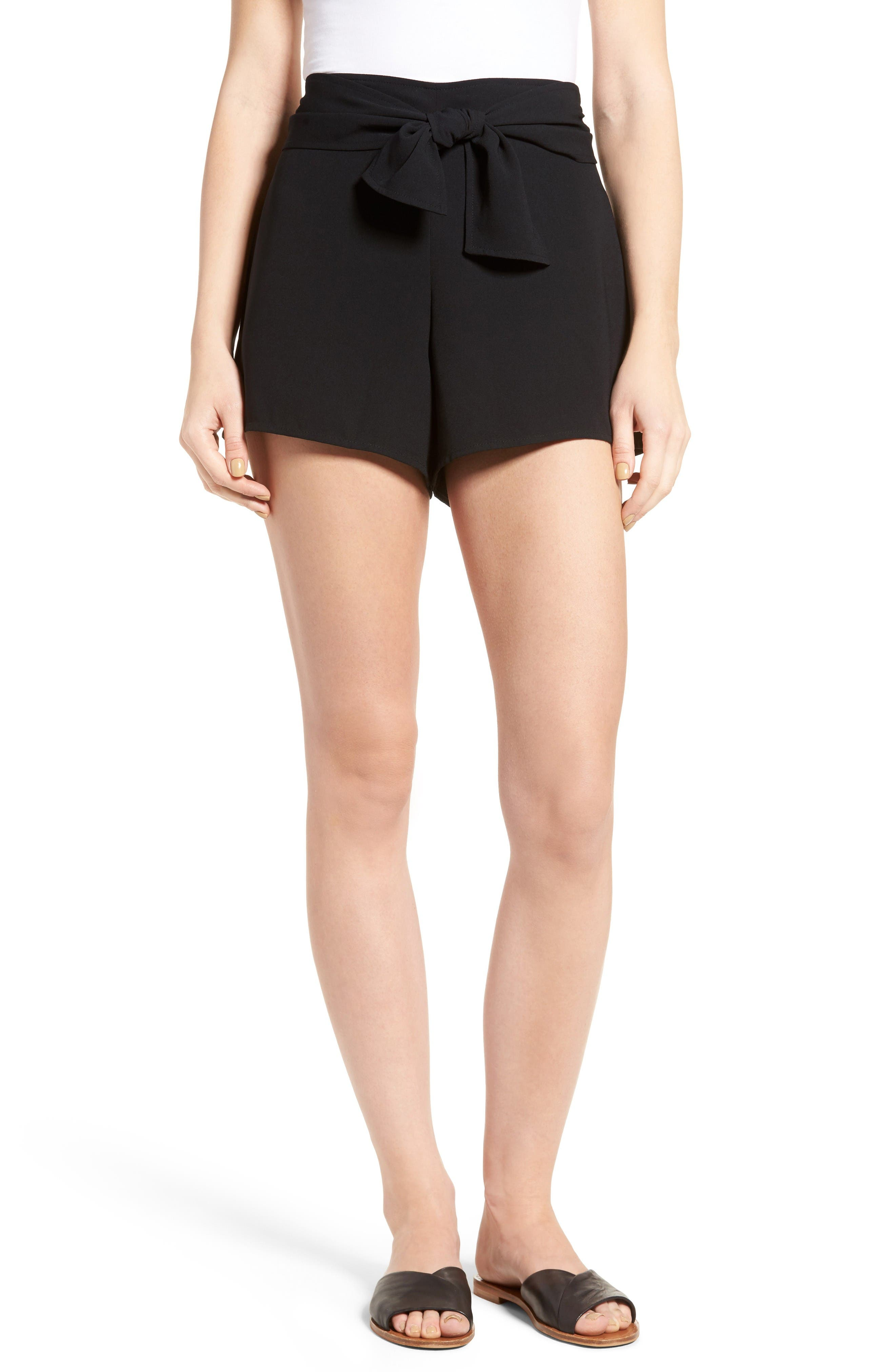 Leith Tie Front Shorts