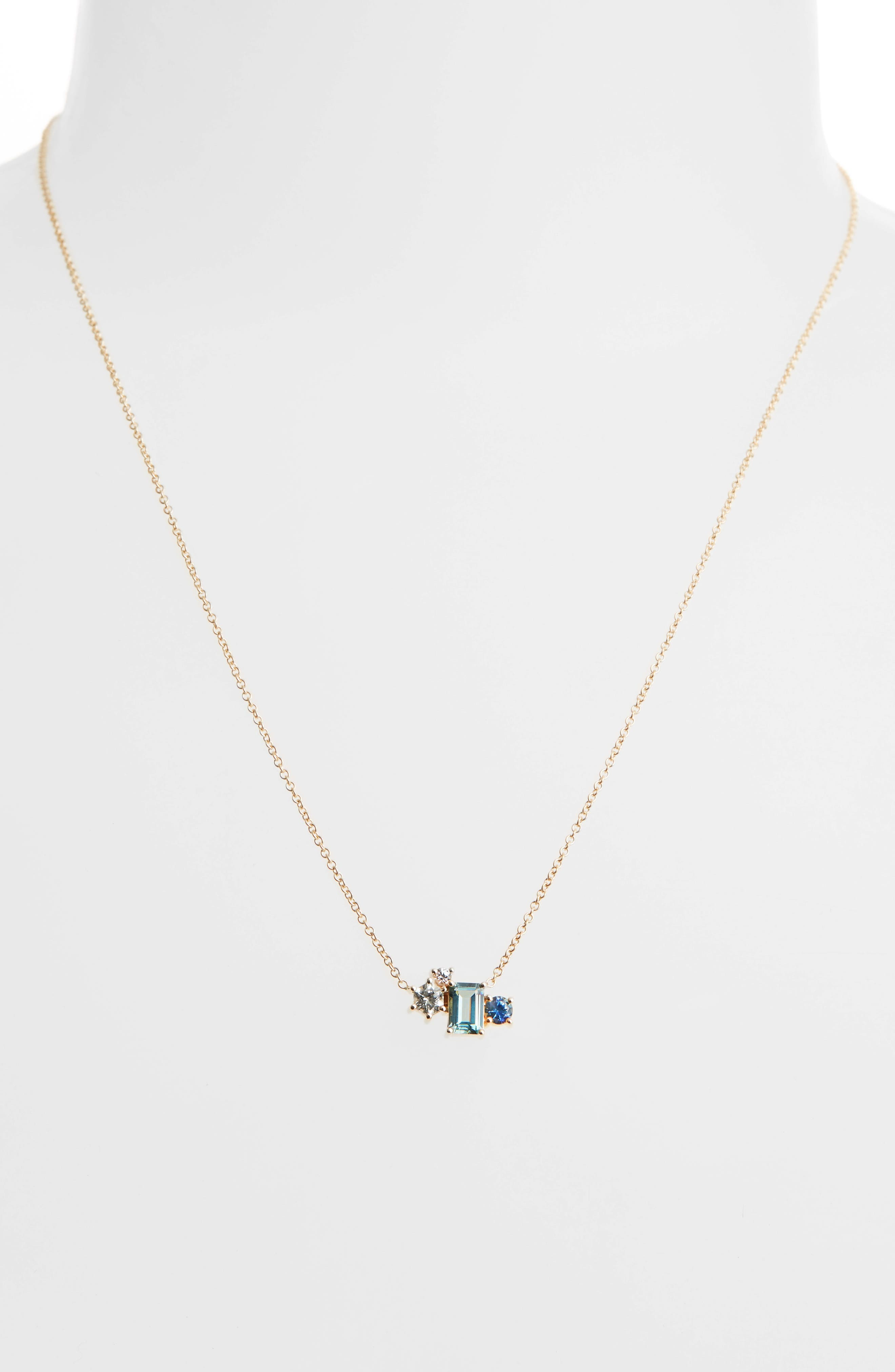 Alternate Image 2  - MOCIUN Sapphire Pendant Necklace (Nordstrom Exclusive)