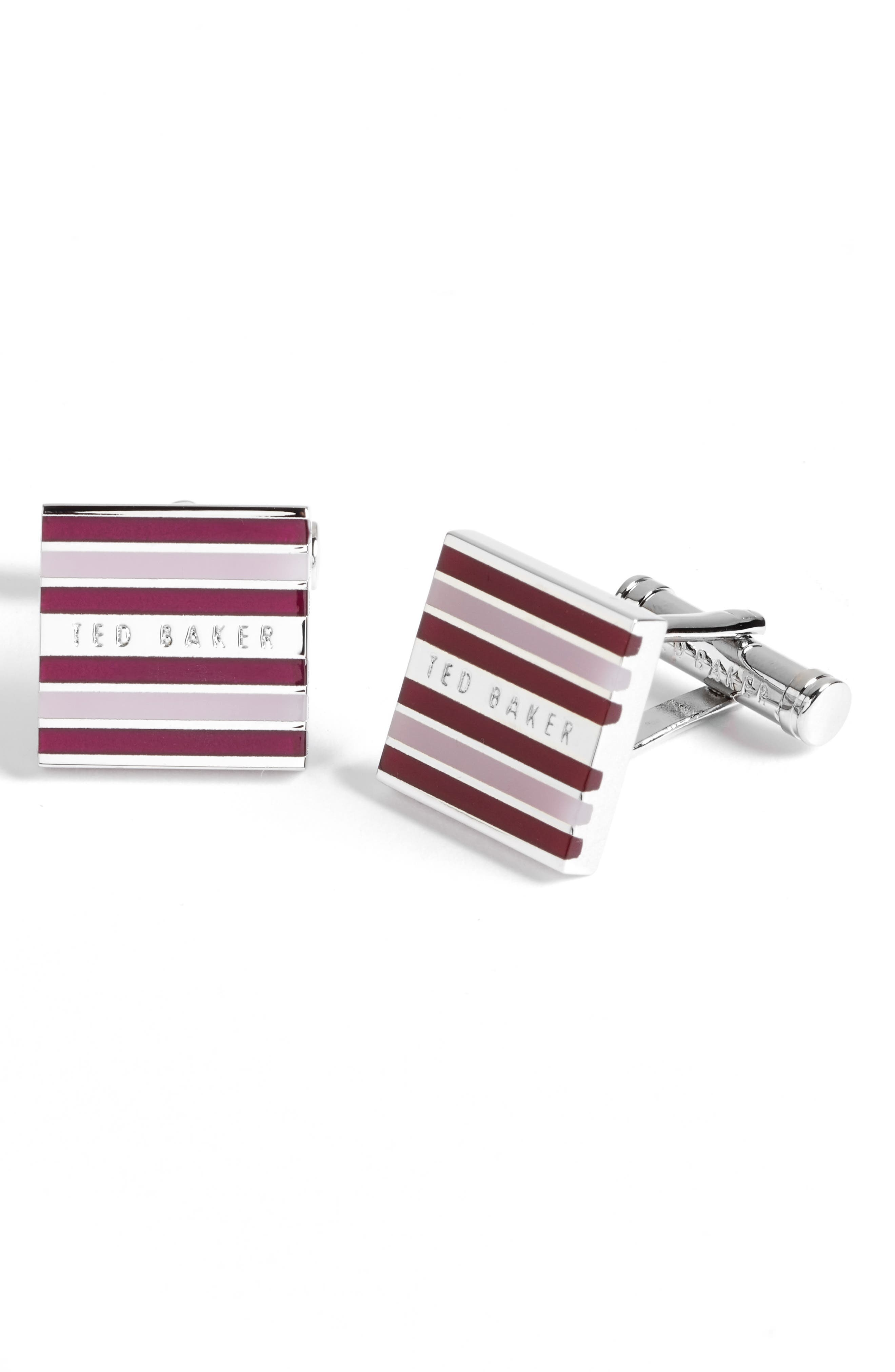 Ted Baker London High Stripe Cuff Links