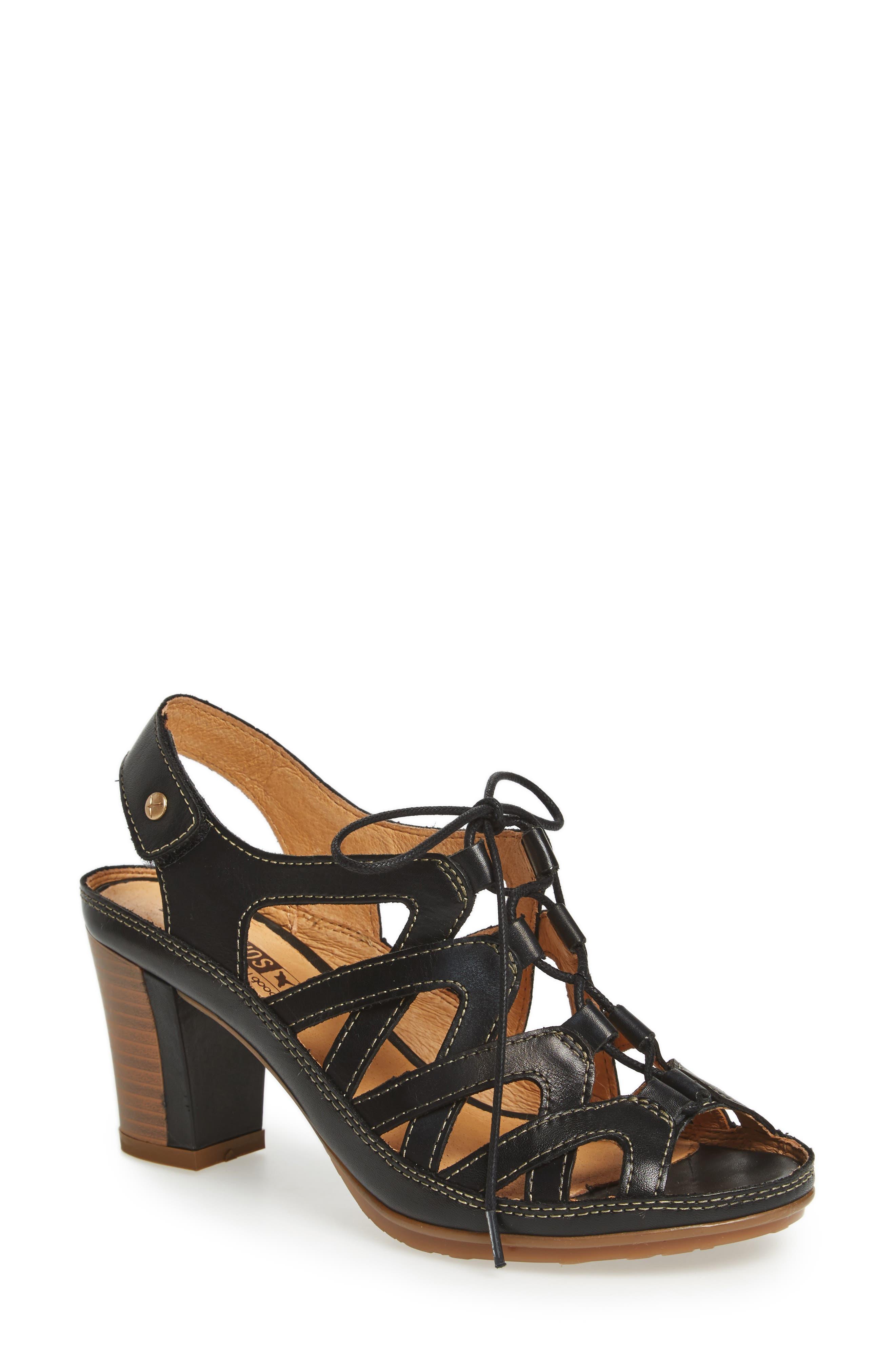 PIKOLINOS Java Block Heel Sandal (Women)