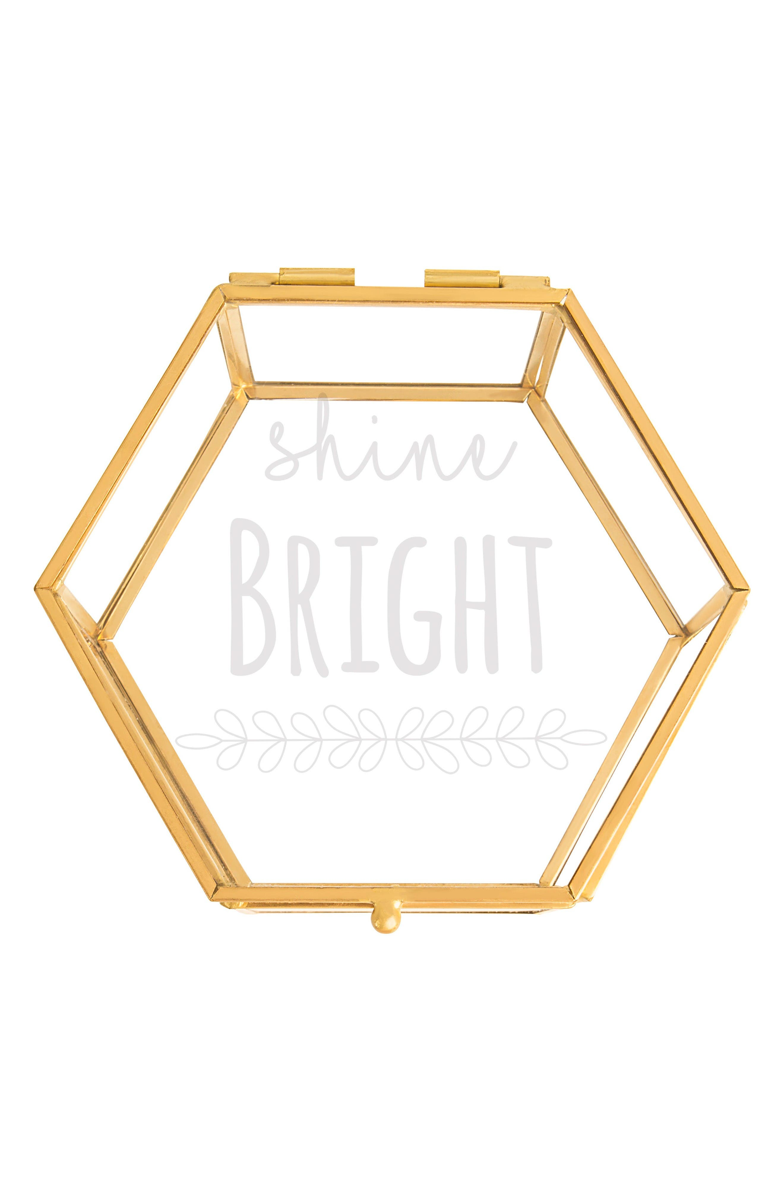 Cathy's Concepts Shine Bright Keepsake Box