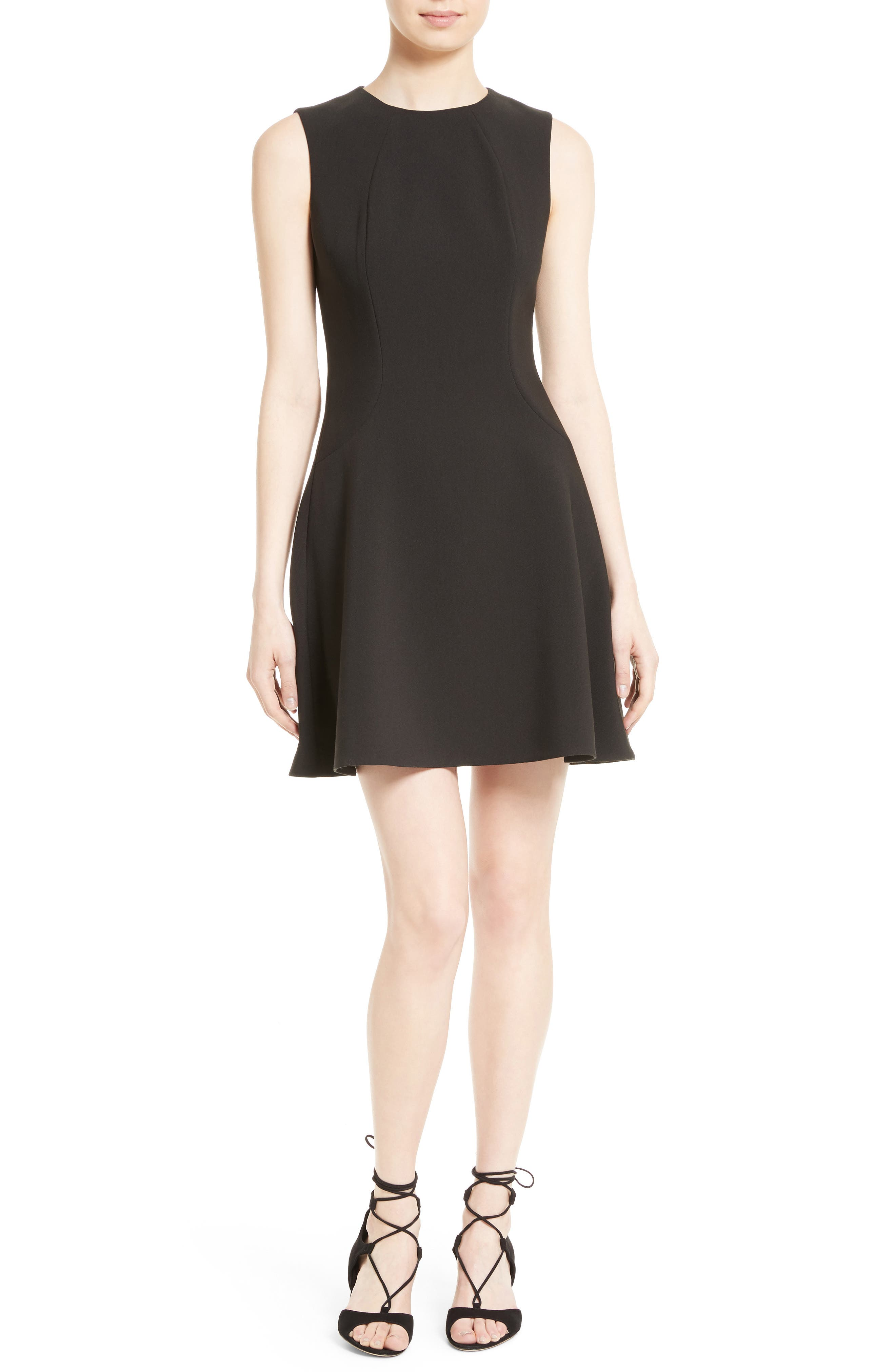 Main Image - kate spade new york stretch crepe flip dress