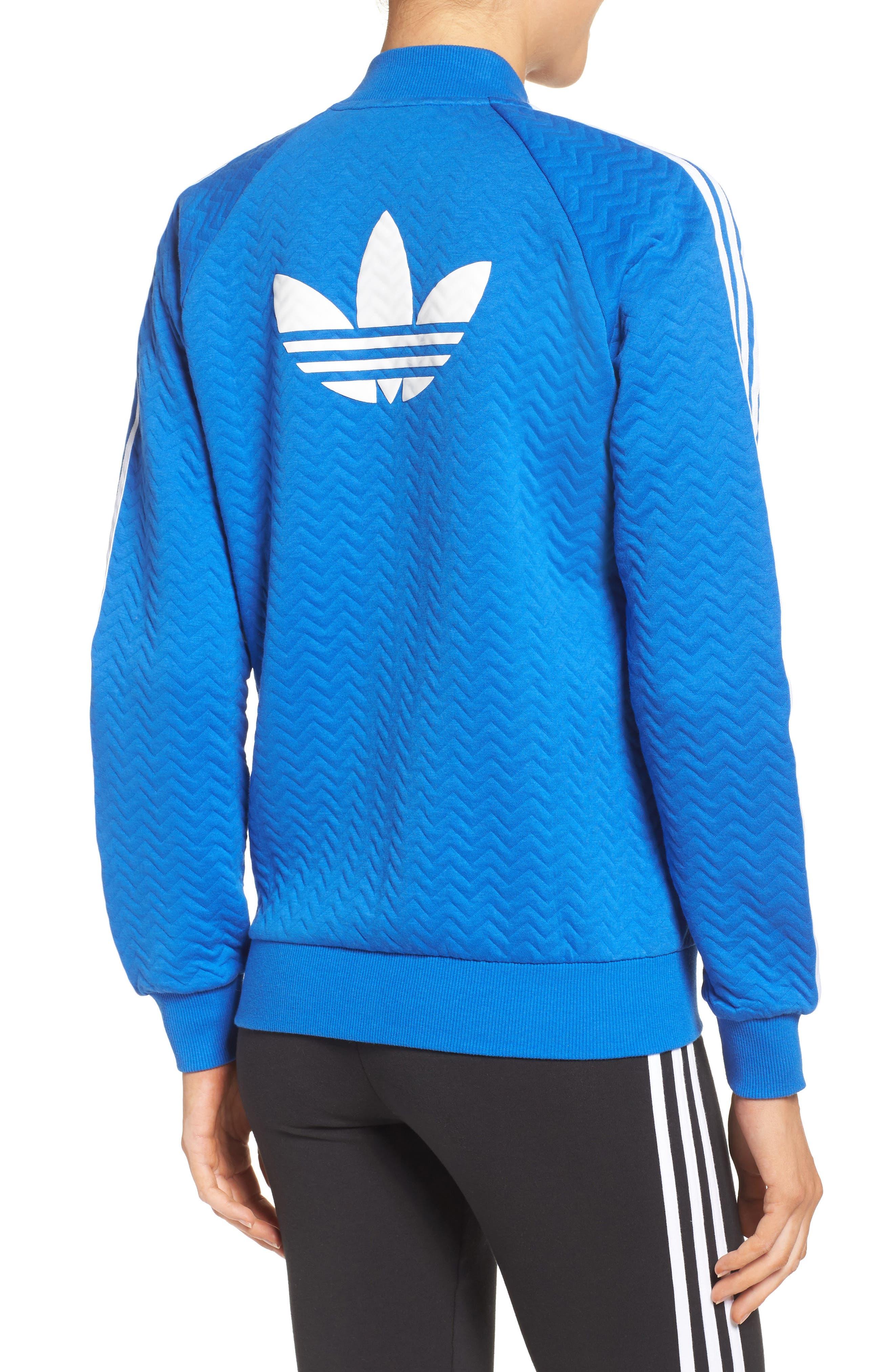 Alternate Image 2  - adidasOriginals 'Superstar' 3-Stripes Track Jacket