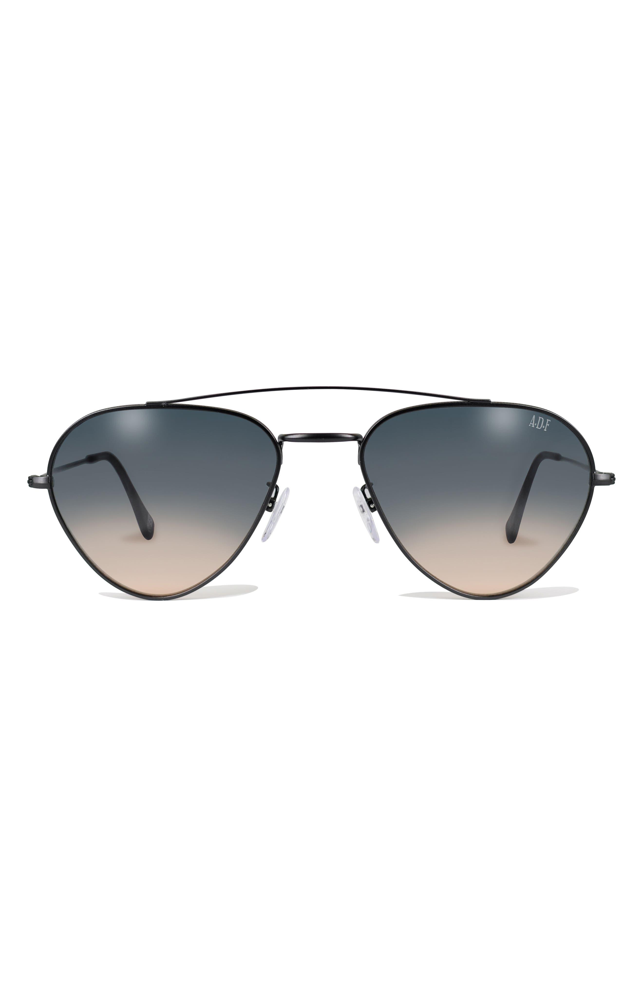 GLASSING 55mm Aviator Sunglasses