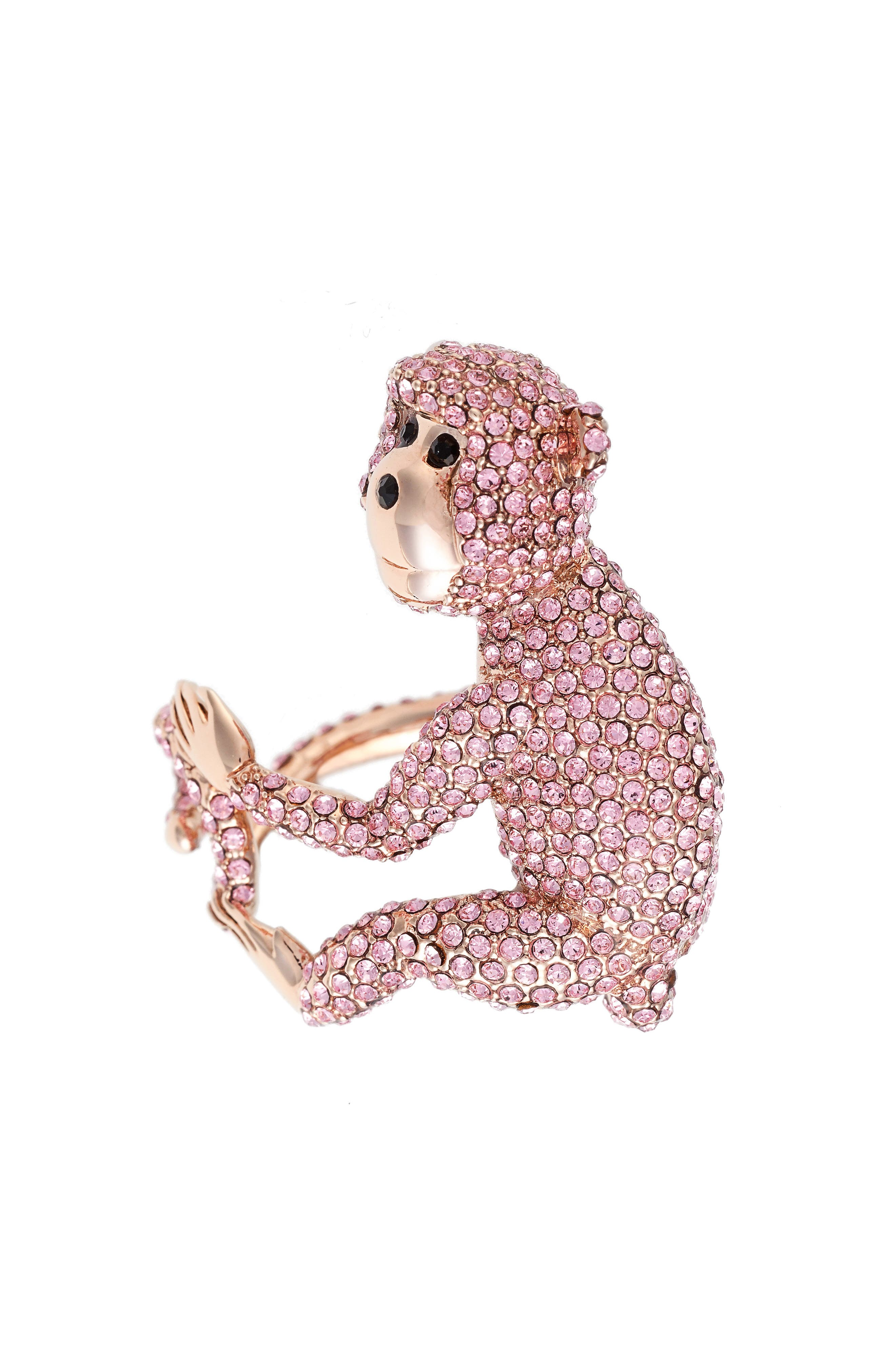 Alternate Image 1 Selected - kate spade new york rambling roses monkey ring