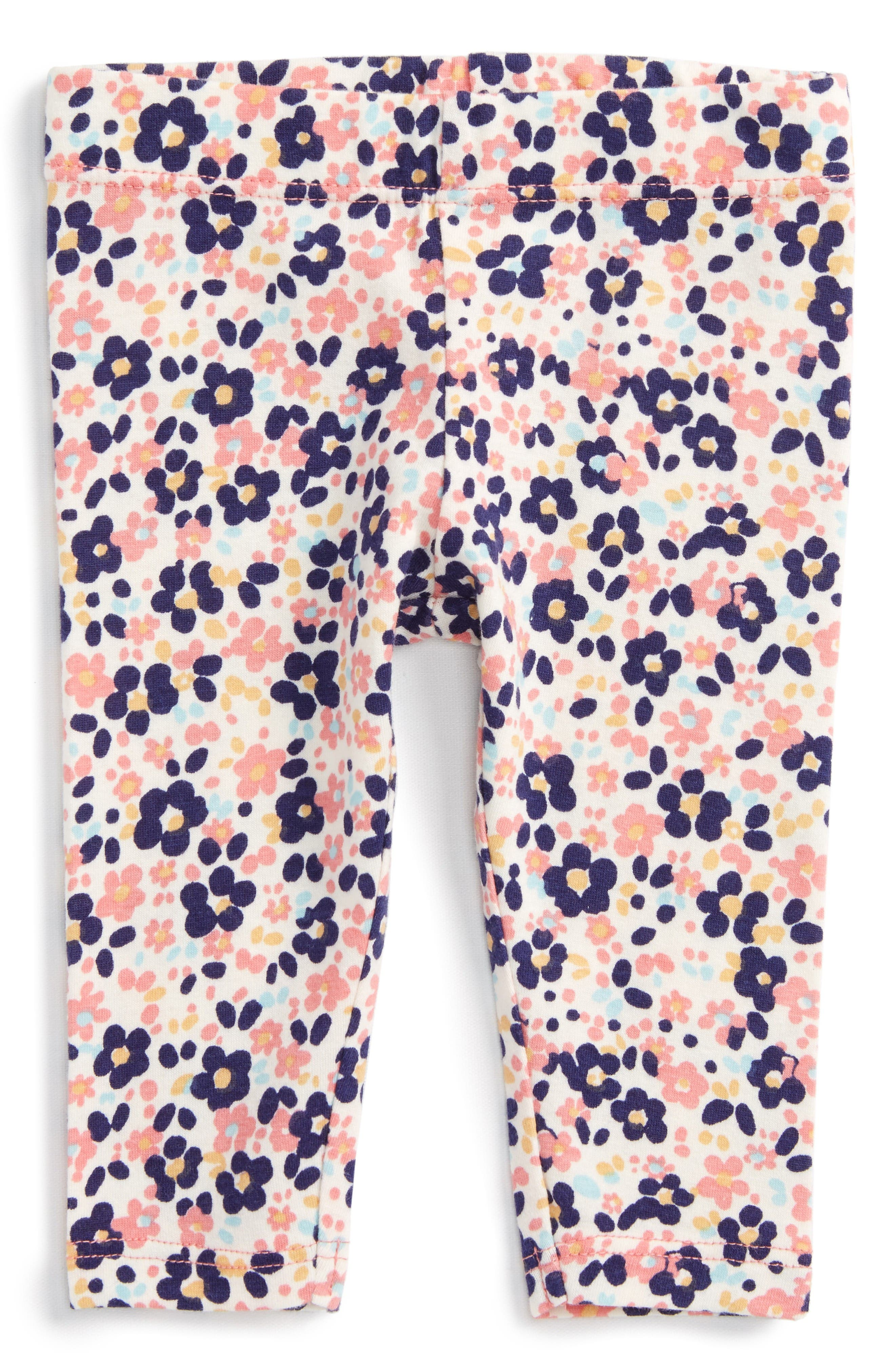 Alternate Image 1 Selected - Tucker + Tate Print Leggings (Baby Girls)