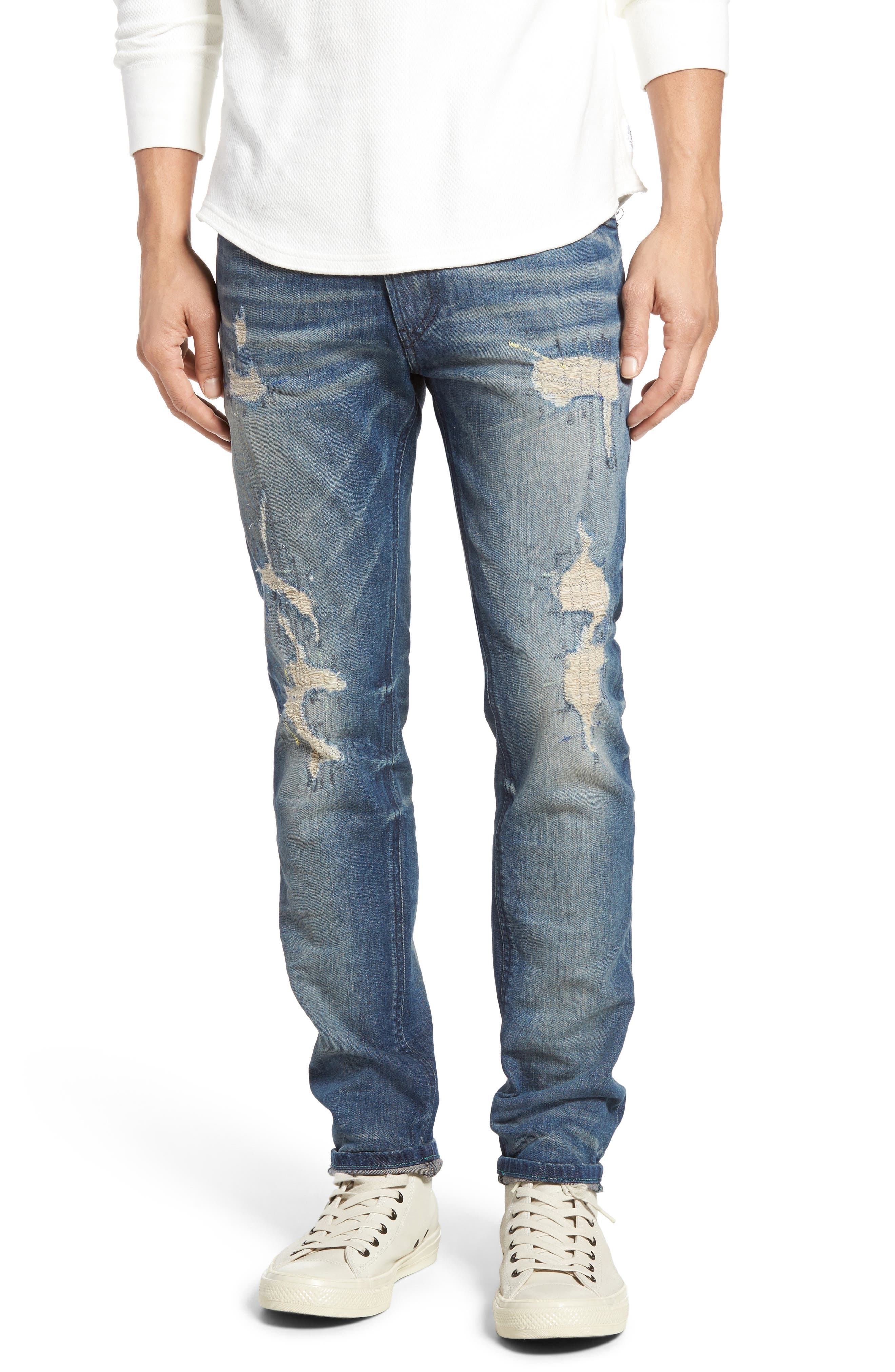 DIESEL® Thommer Slim Fit Jeans (084DG)