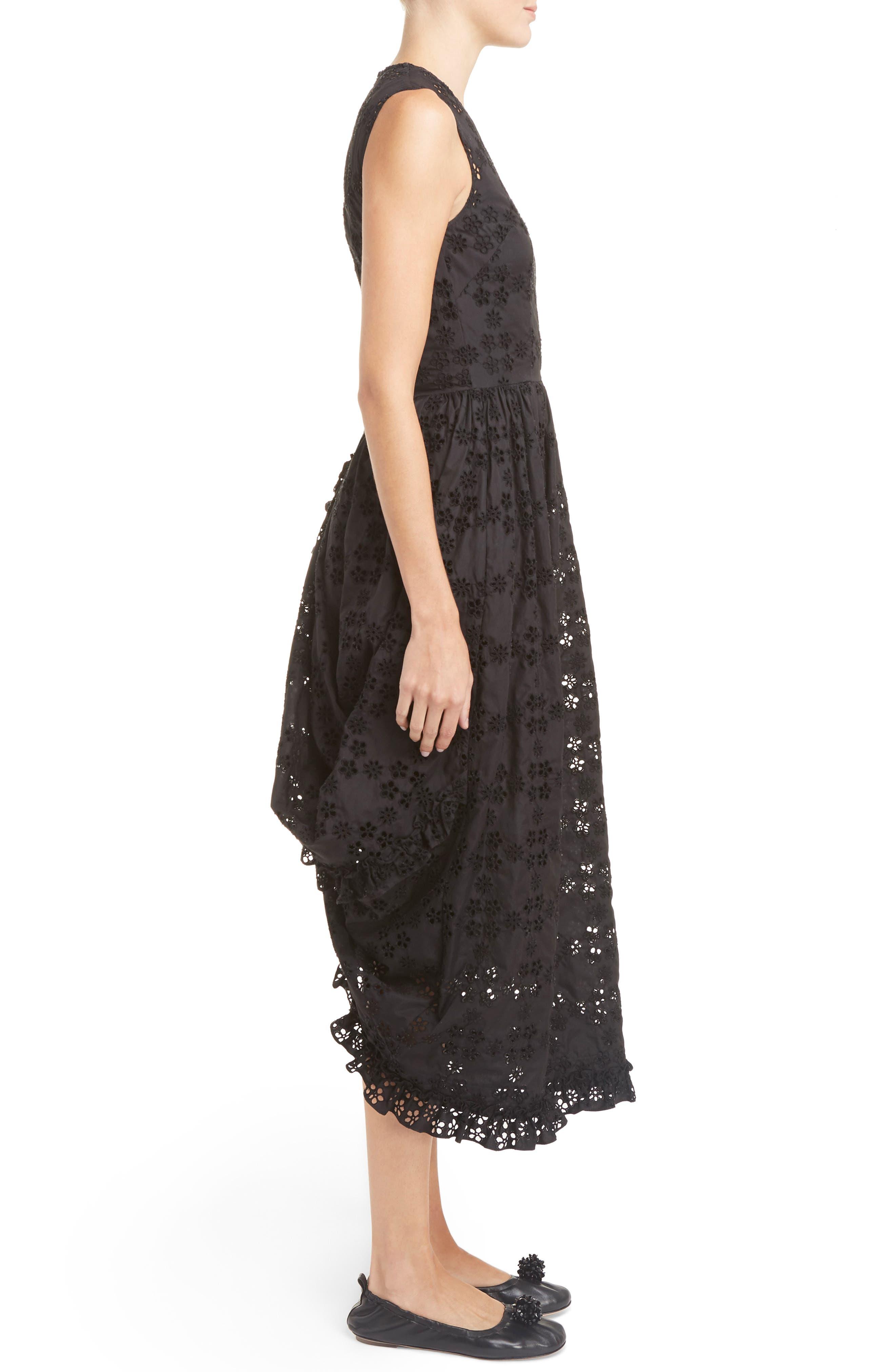 Alternate Image 4  - Simone Rocha Eyelet Frill Dress