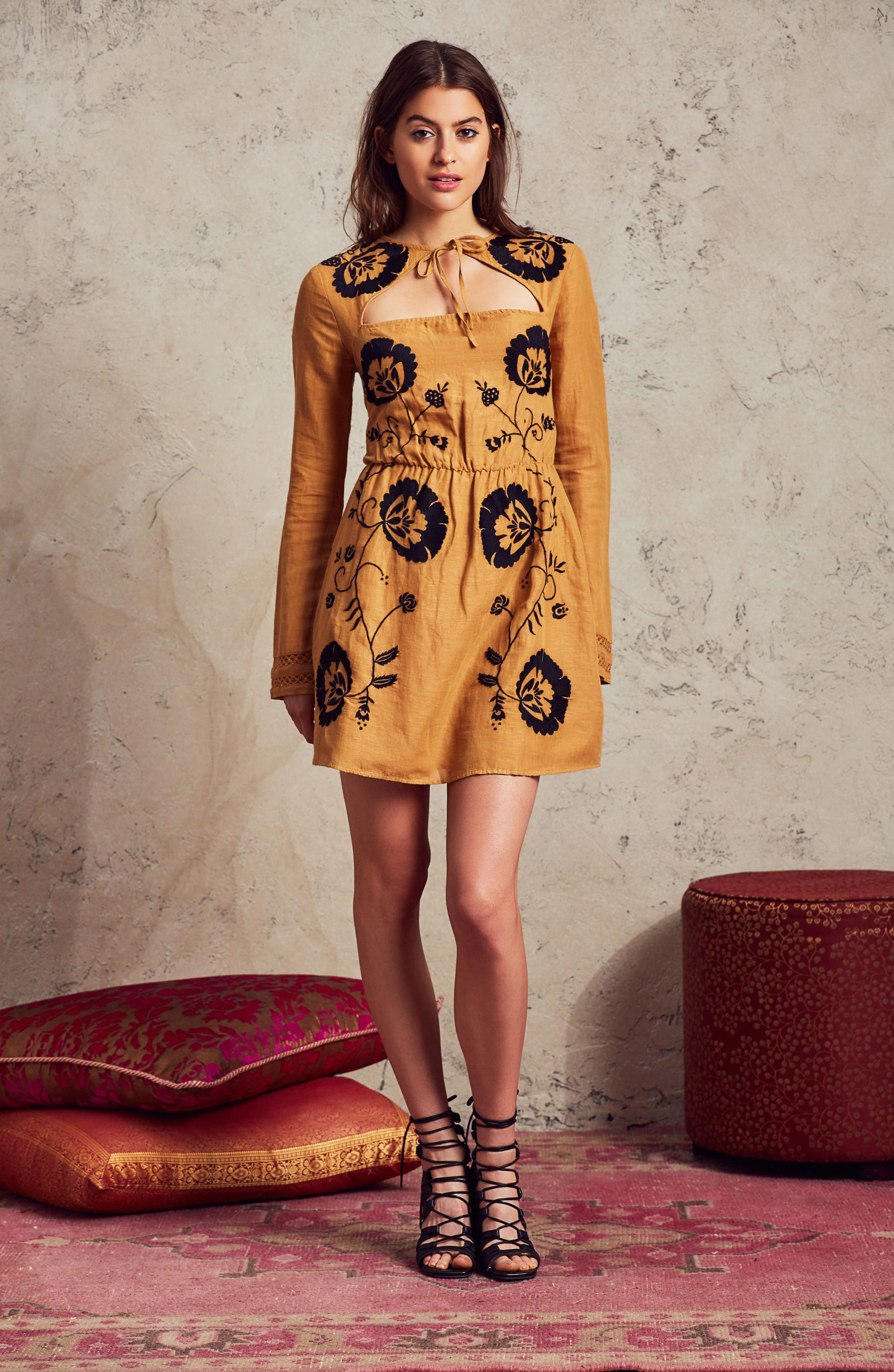 Alternate Image 2  - Tularosa Keeylan Embroidered Dress