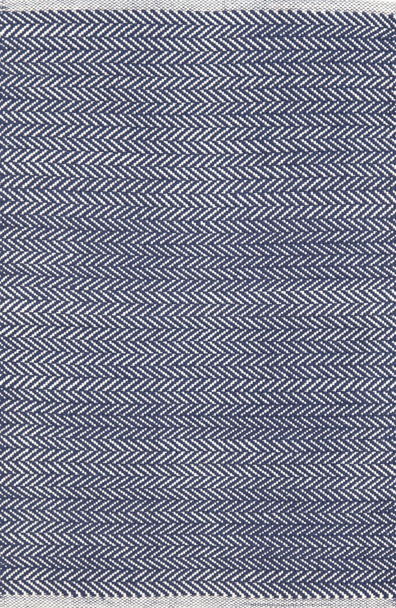 Alternate Image 1 Selected - Dash & Albert Herringbone Indoor/Outdoor Rug