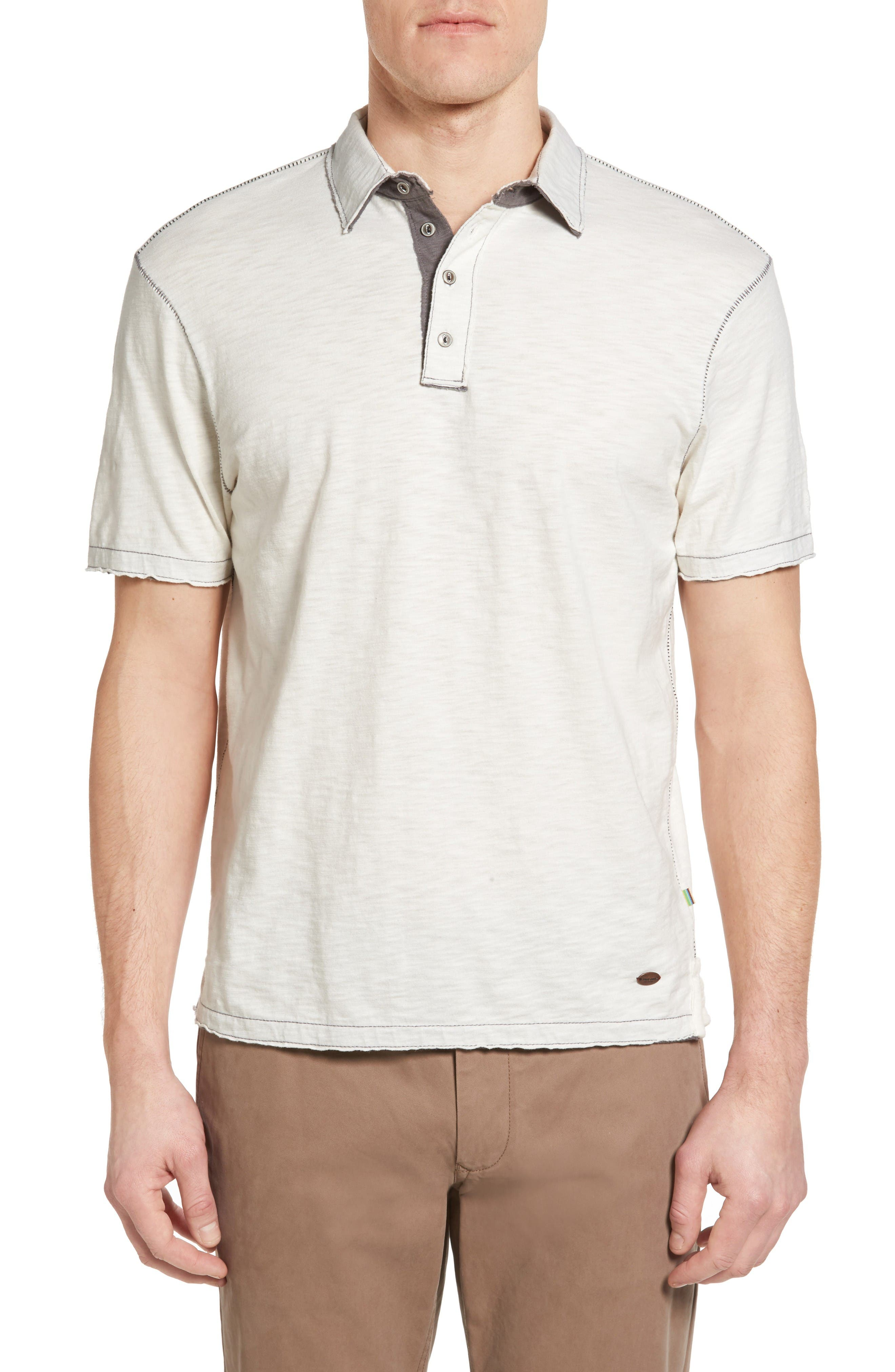 True Grit Slub Jersey Polo