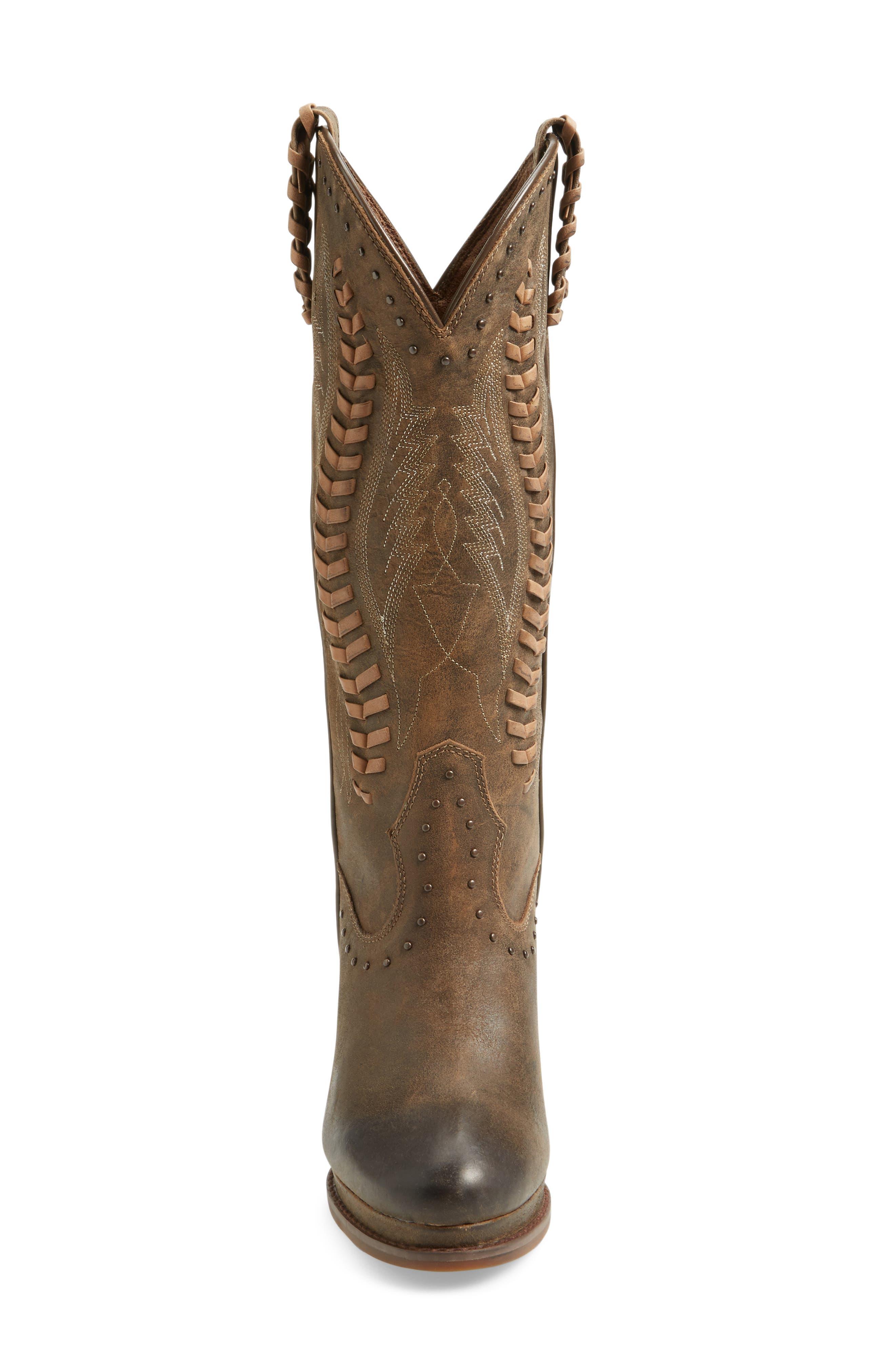 Alternate Image 3  - Ariat Nashville Western Wedge Boot (Women)