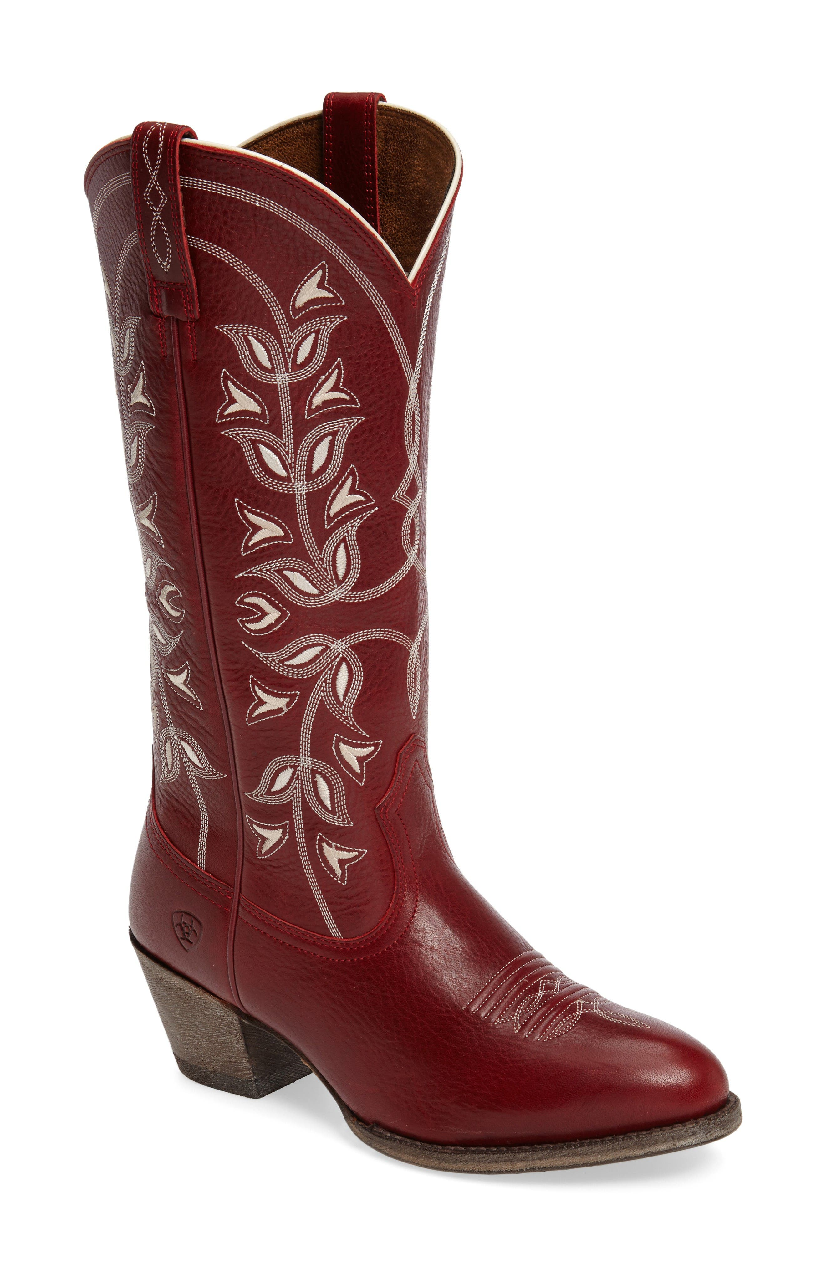 Ariat 'Desert Holly' Embroidered Western Boot (Women)
