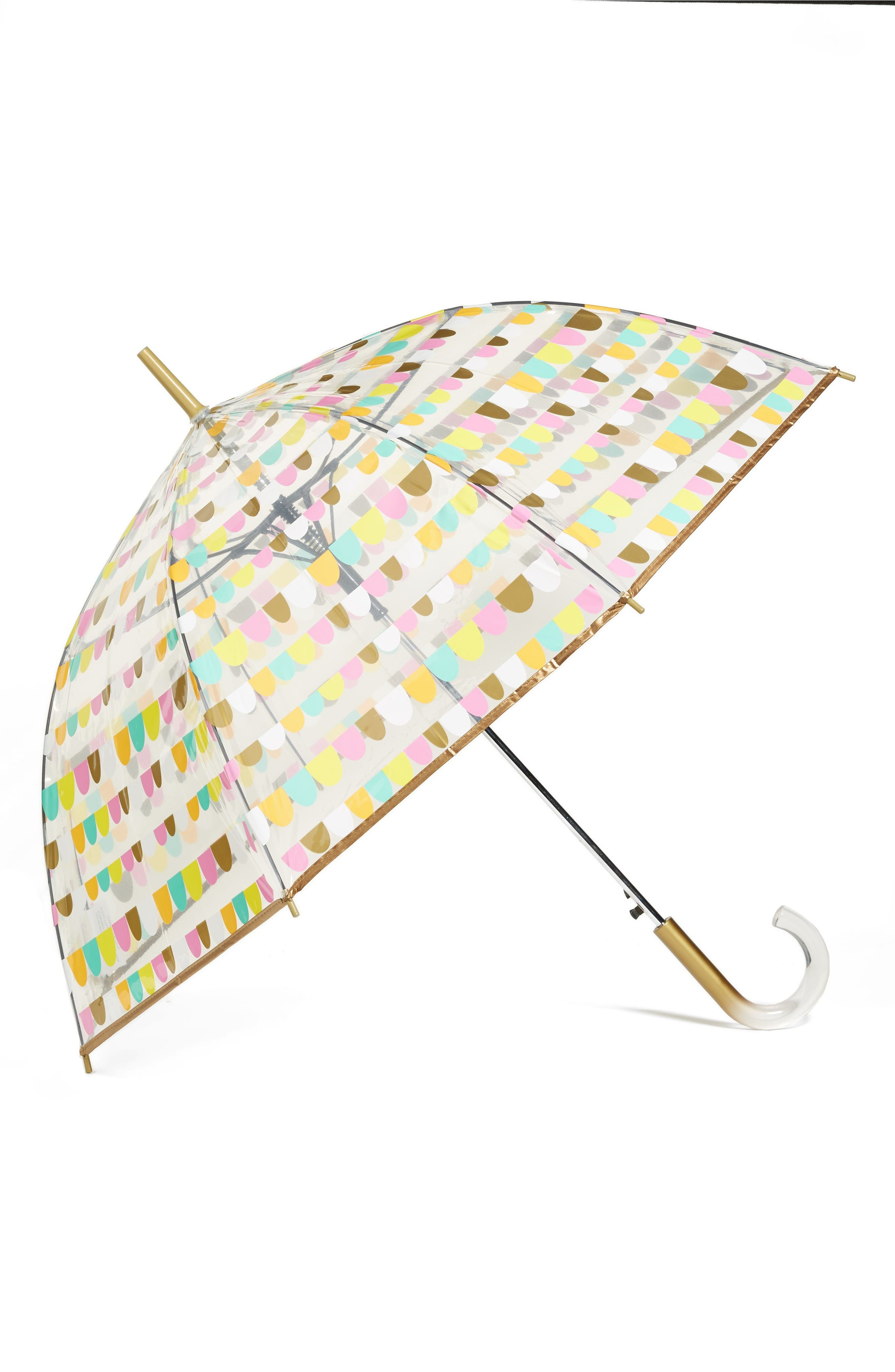 SHEDRAIN 'The Bubble' Auto Open Stick Umbrella