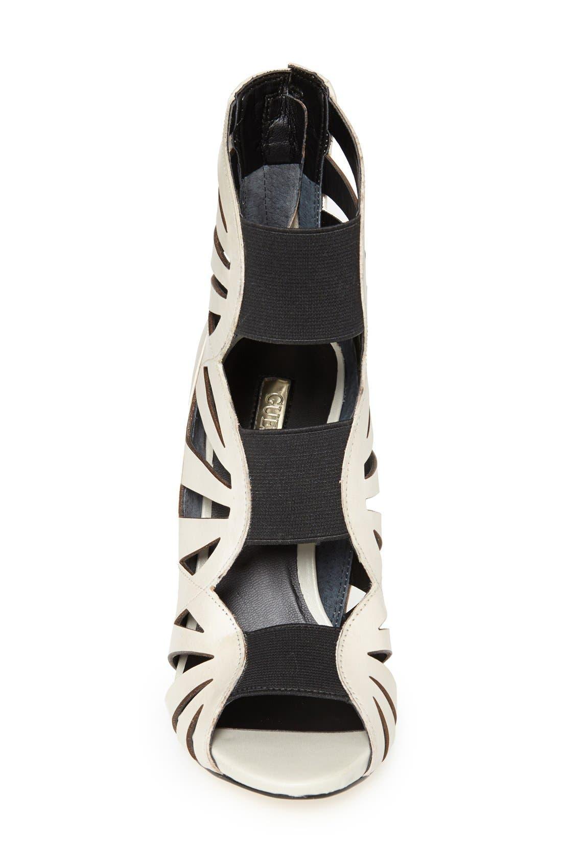 Alternate Image 3  - GUESS 'Aela' Leather Open Front Sandal (Women)