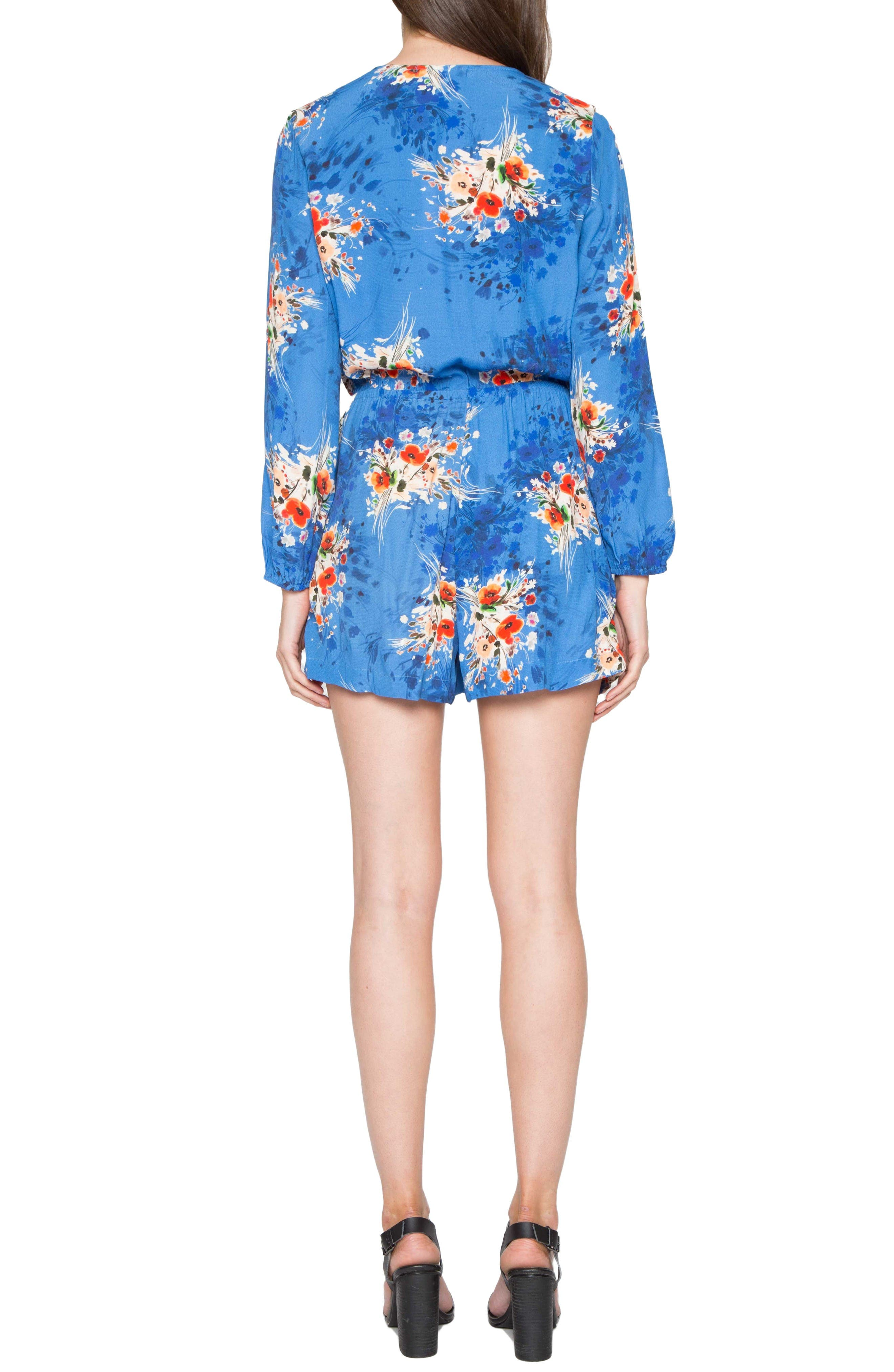 Alternate Image 2  - Willow & Clay Floral Print Romper