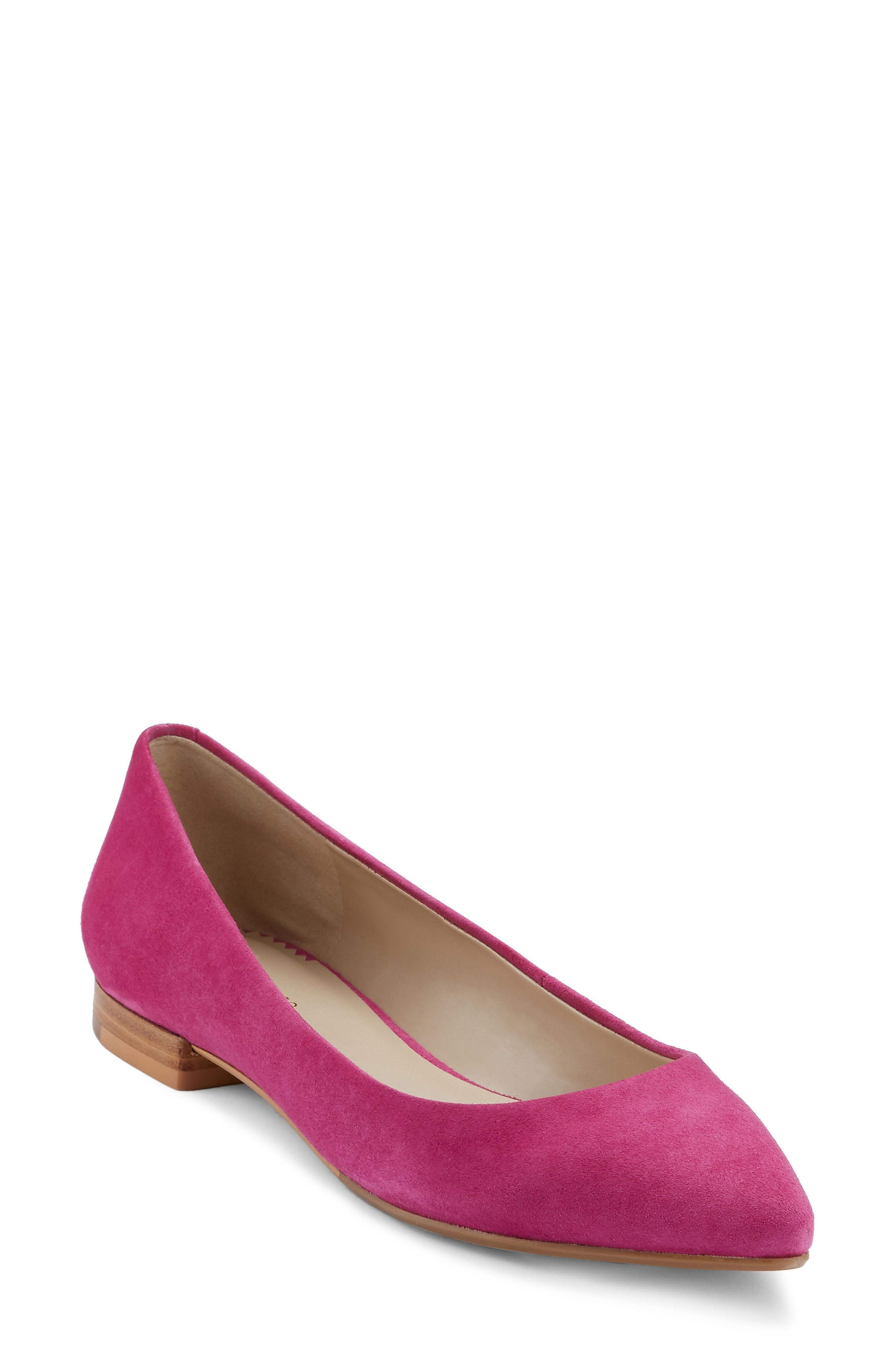 G.H. Bass & Co. Kayla Pointy Toe Flat (Women)