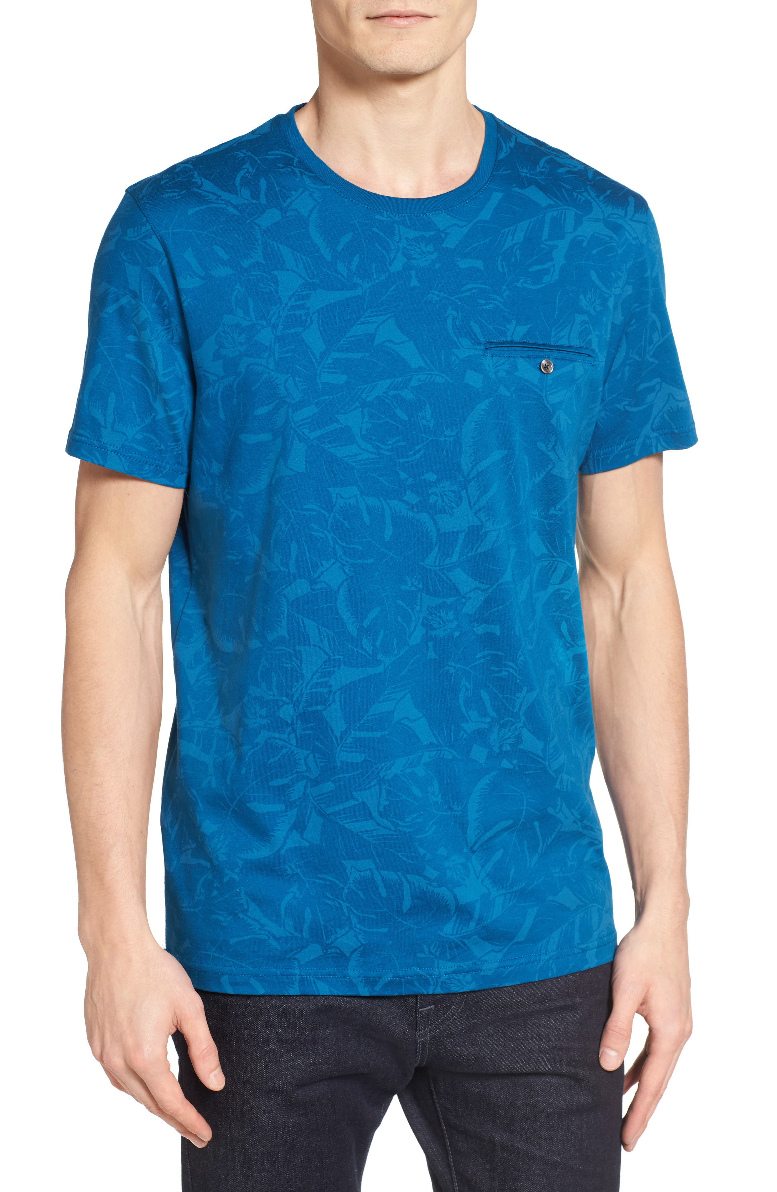 Ted Baker London Flowby Floral T-Shirt