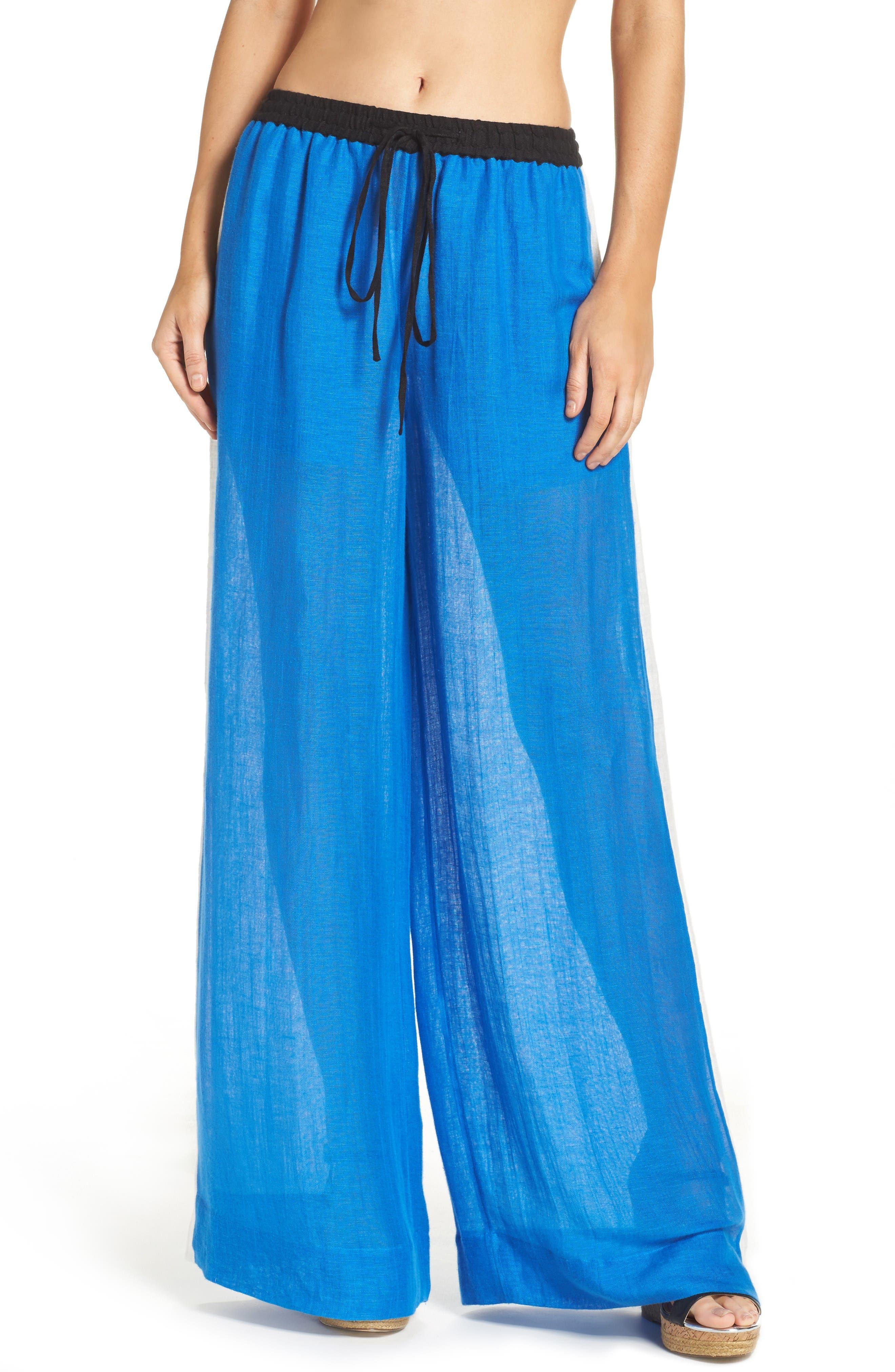 Diane von Furstenberg Cover-Up Wide Leg Pants