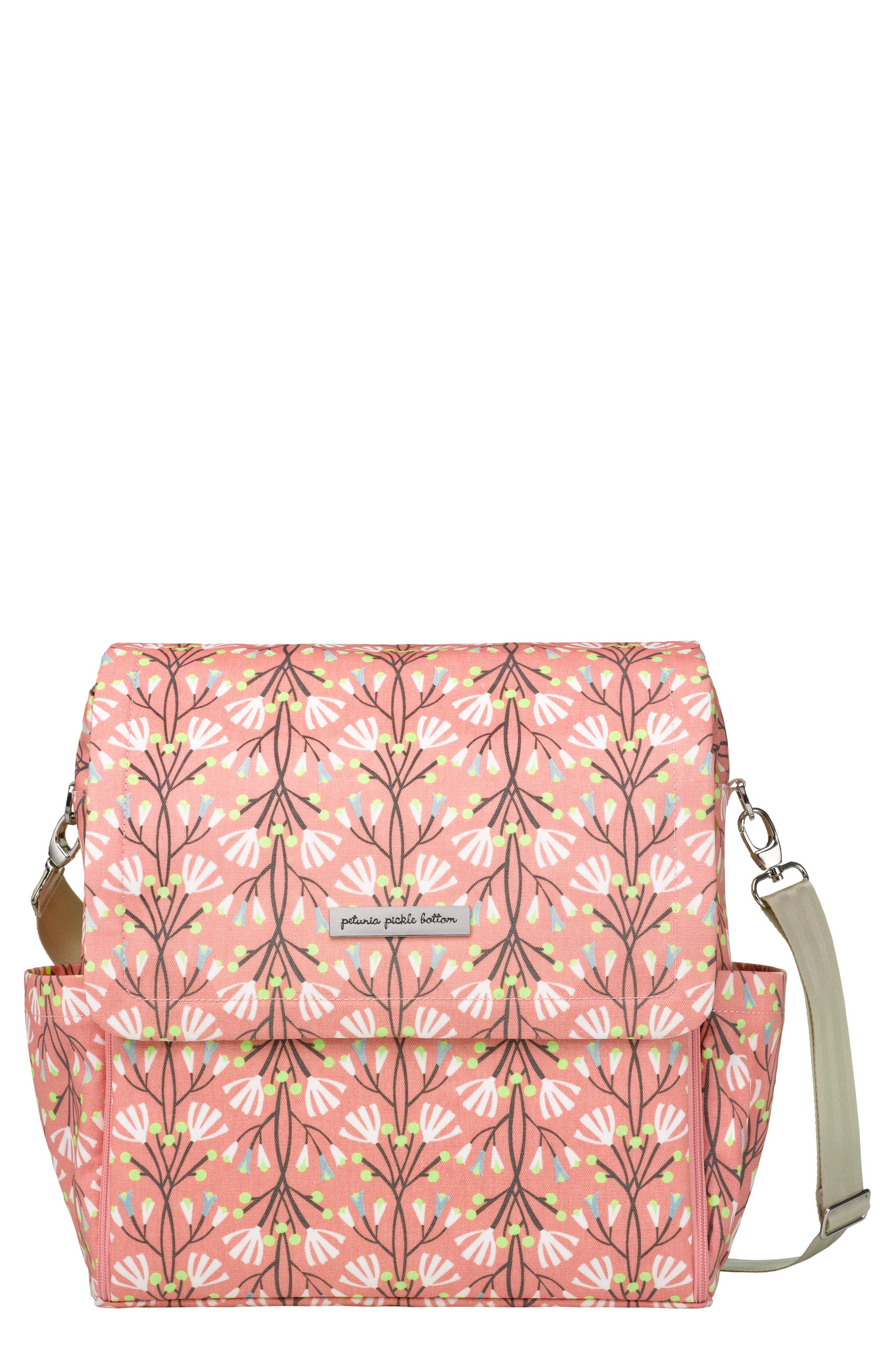 Petunia Pickle Bottom 'Boxy Glazed' Diaper Bag