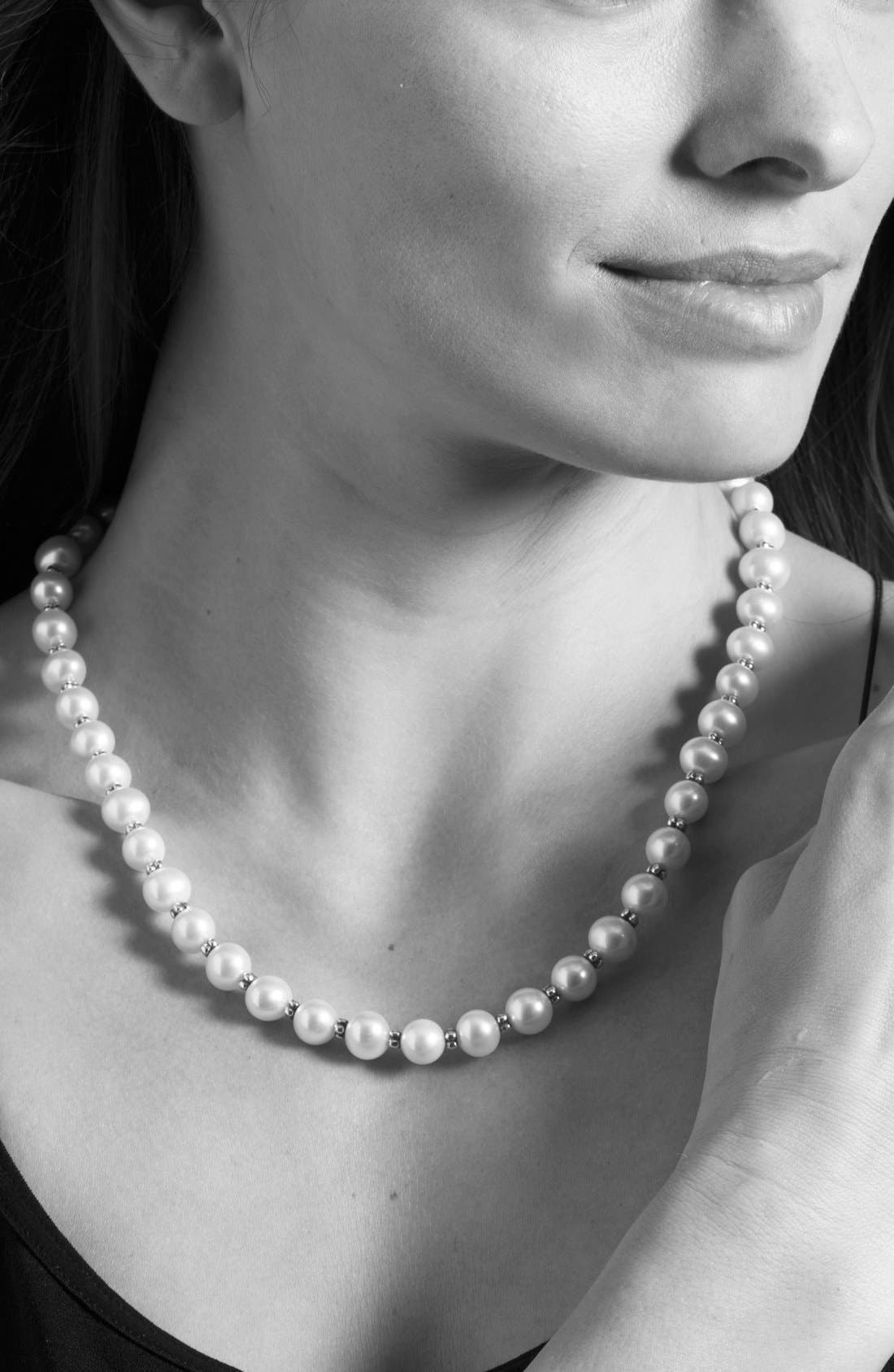 Alternate Image 3  - LAGOS 'Luna Pearl' Strand Necklace