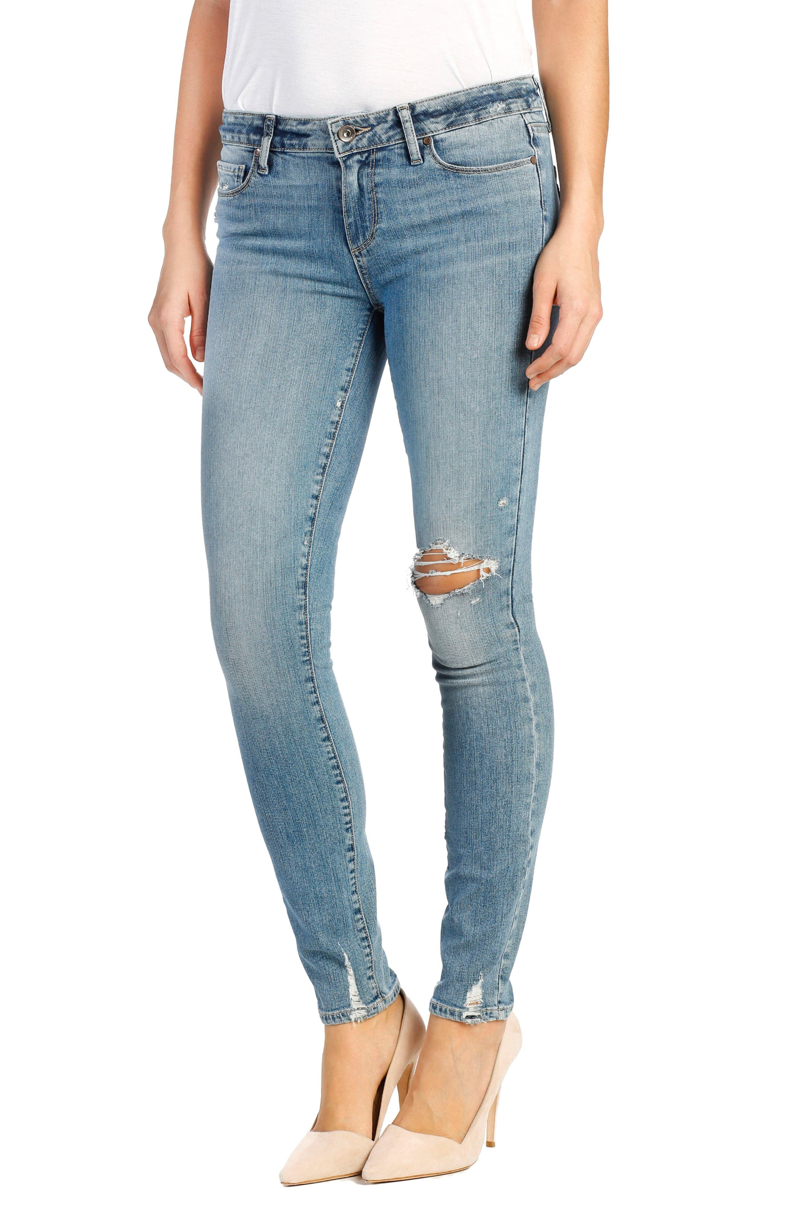 PAIGE Verdugo Ultra Skinny Jeans (Pryor Destructed)