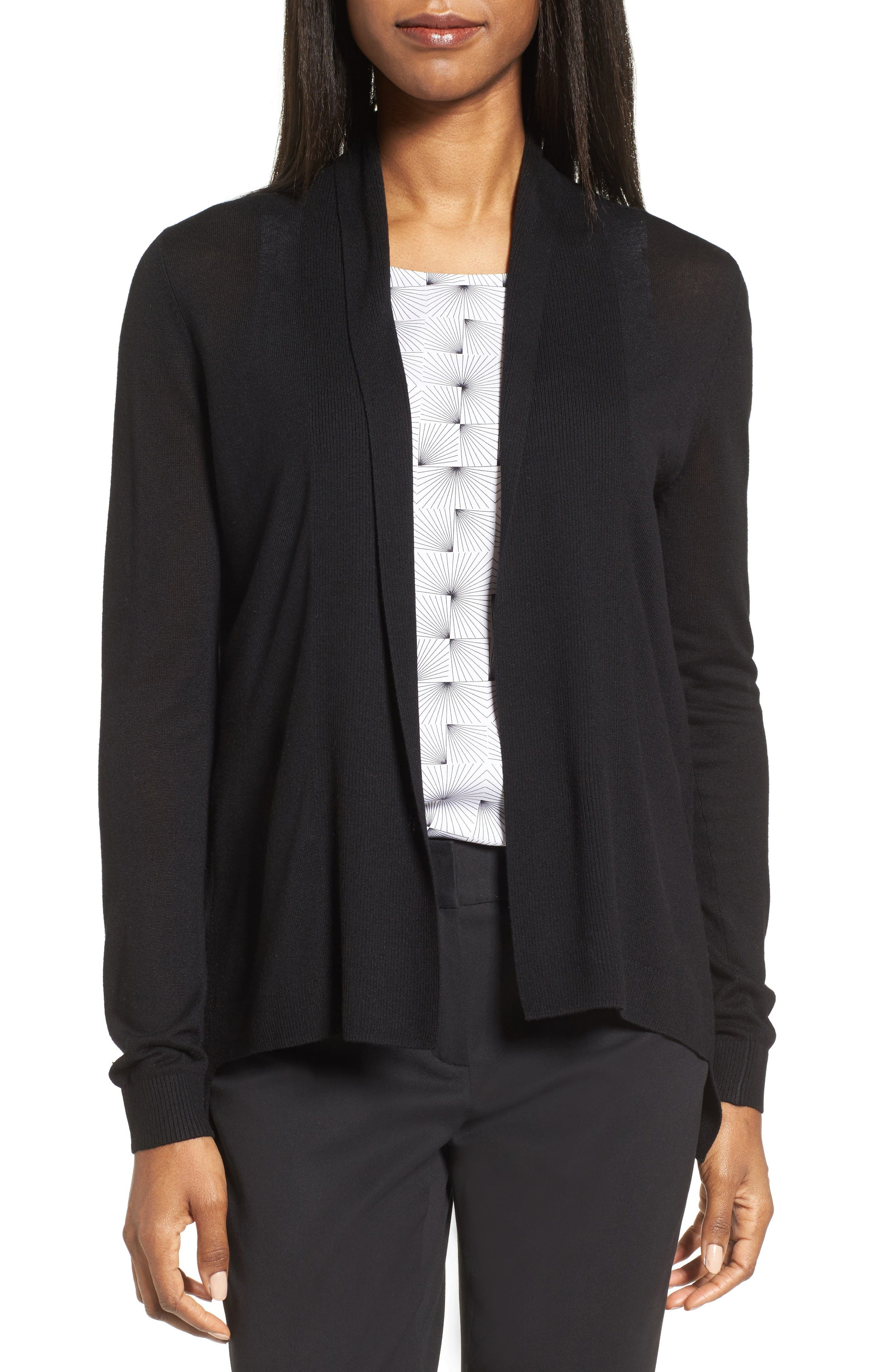 Nordstrom Collection Shawl Collar Cardigan