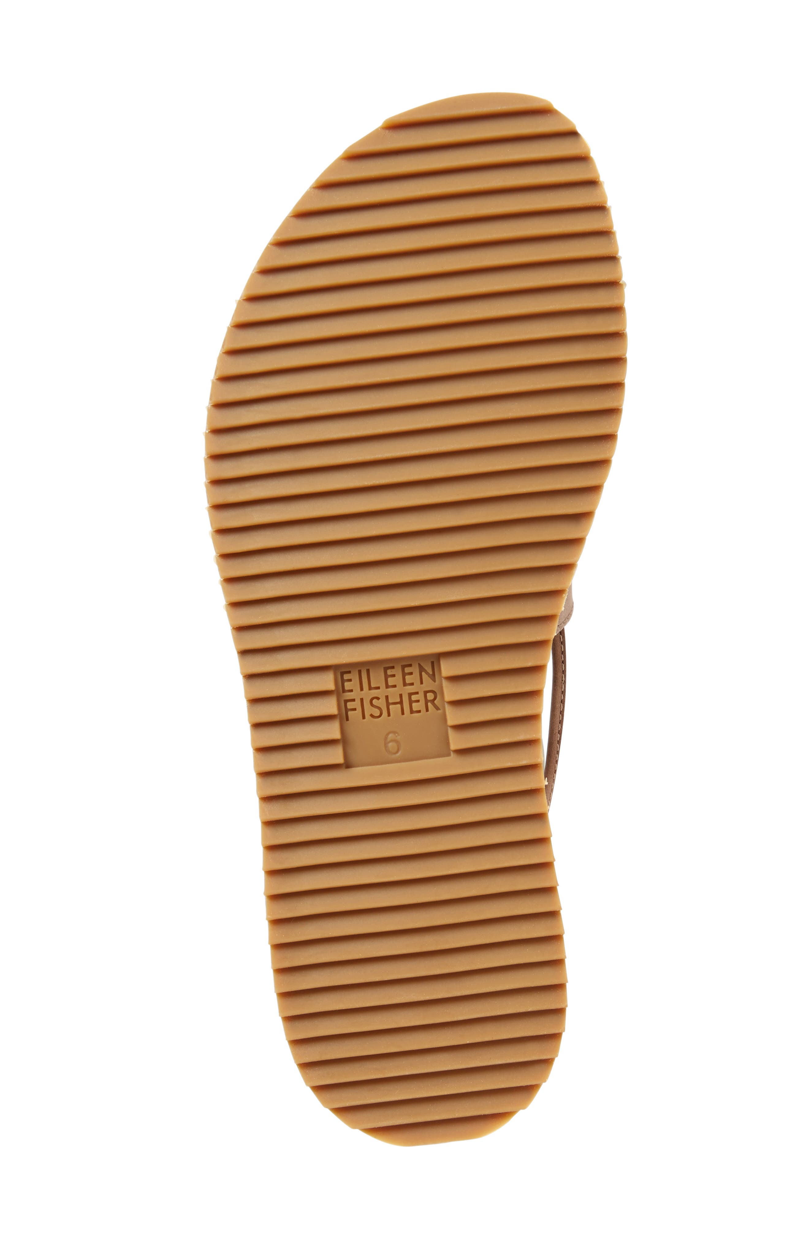 Alternate Image 4  - Eileen Fisher Wales Lace-Up Sandal (Women)