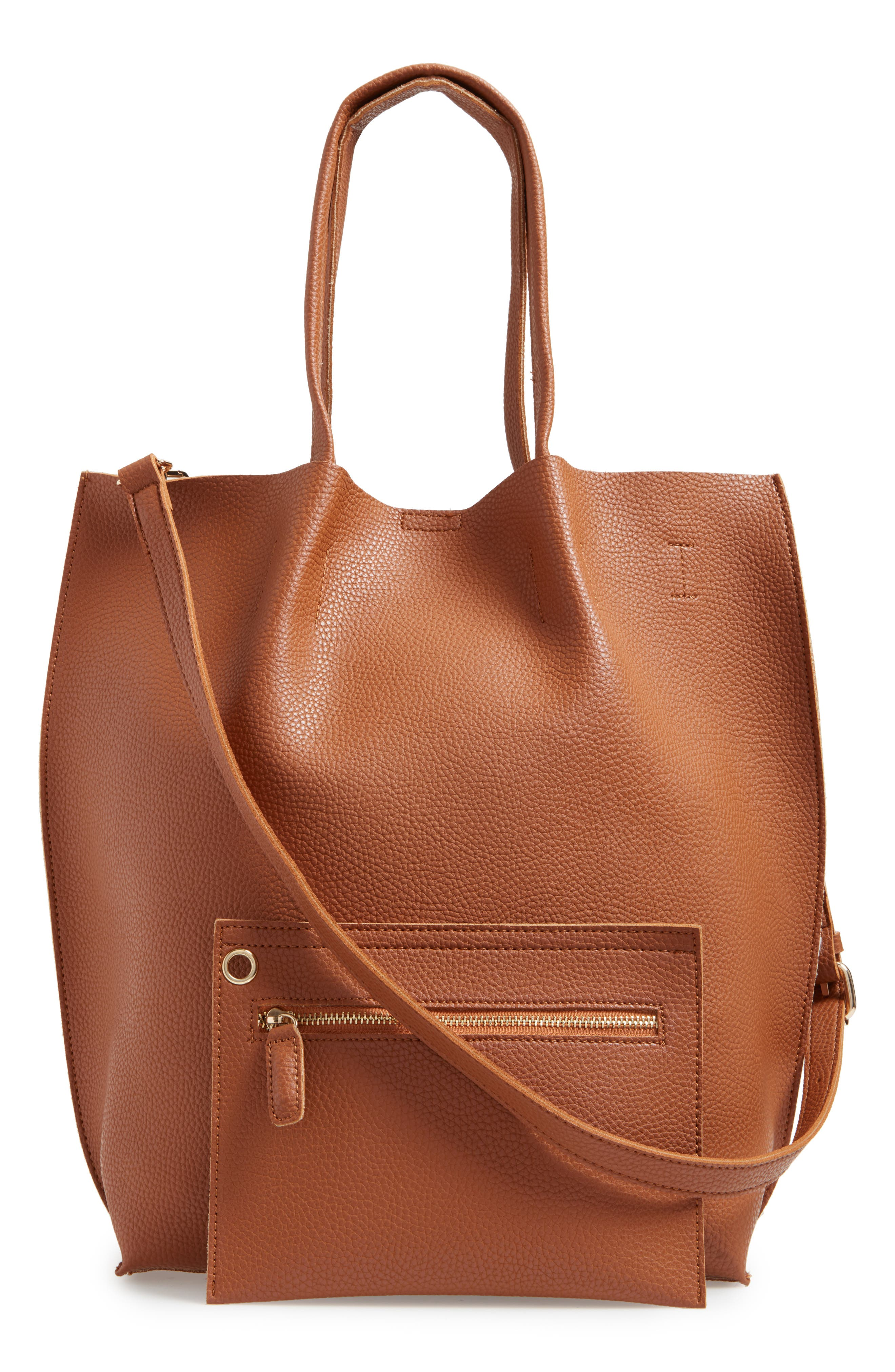 Alternate Image 2  - Sole Society Gramercy Faux Leather Tote