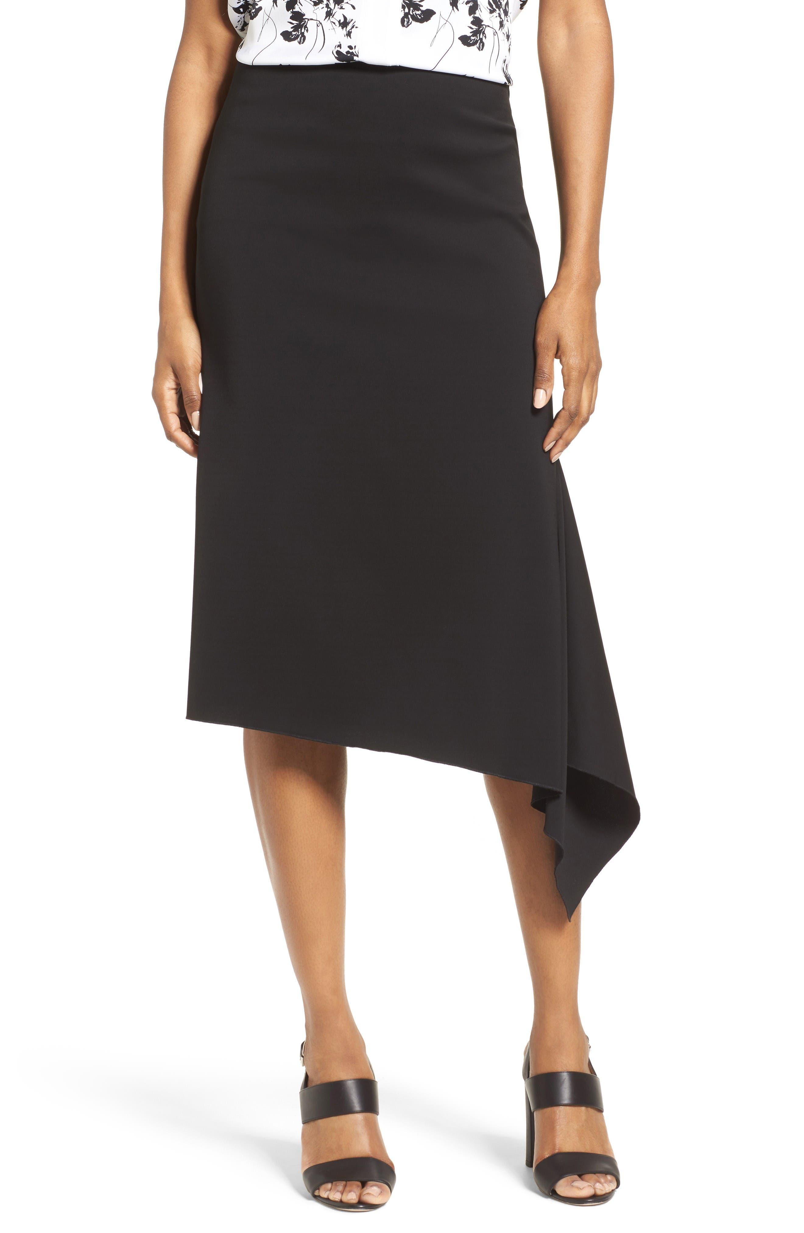 Classiques Entier® Side Drape A-Line Skirt